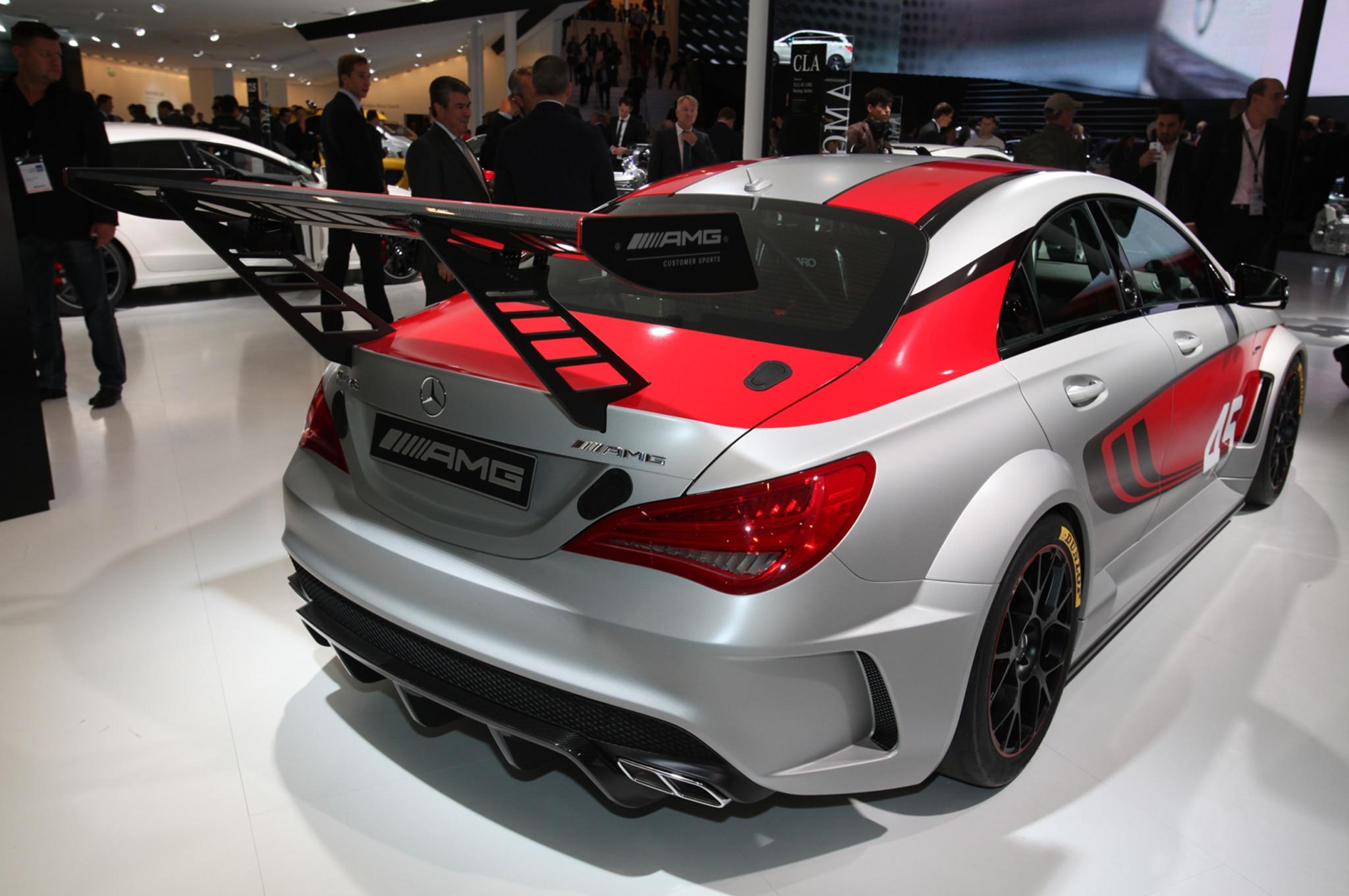 Mercedes-Benz Reveals CLA45 AMG Racing Series Concept