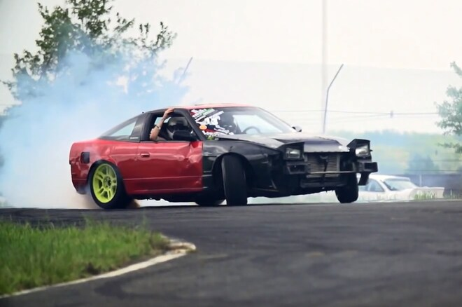 Nissan 240sx Drifting1