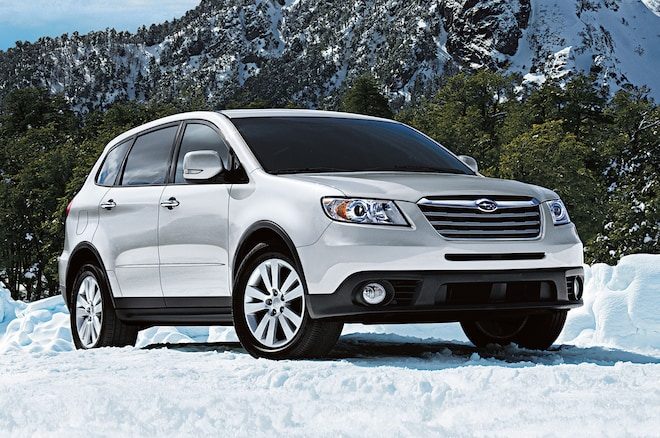 2013 Subaru Tribeca Front Three Quarters 211