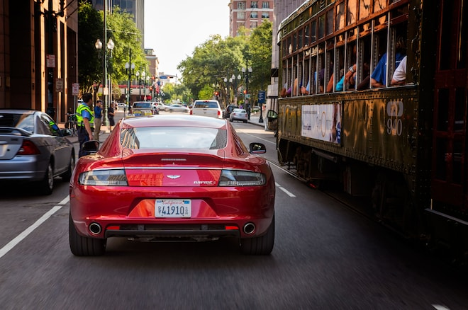 2014 Aston Martin Rapide S Rear View1