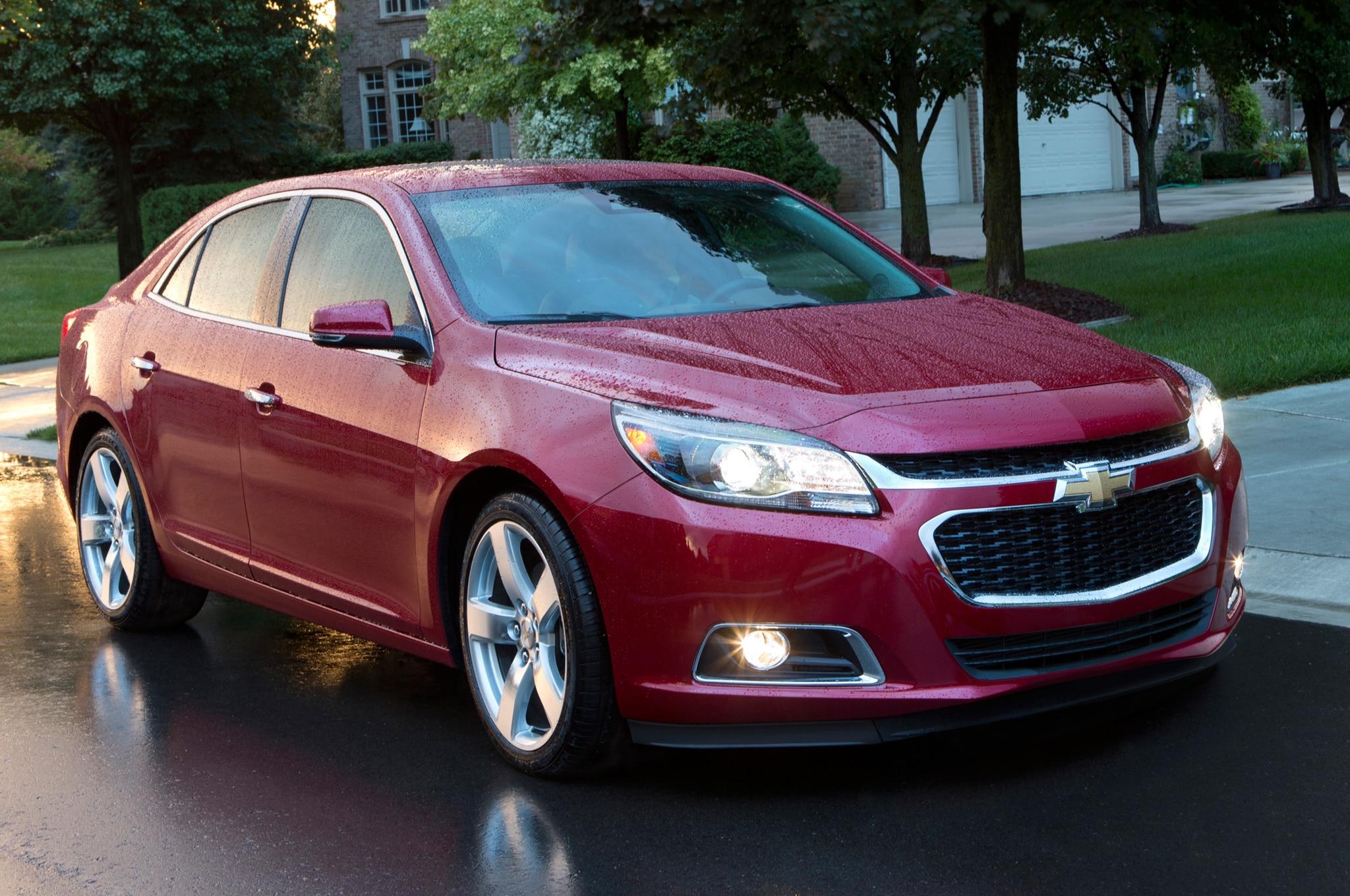 2014 Chevrolet Malibu Drops E Assist Mild Hybrid Model