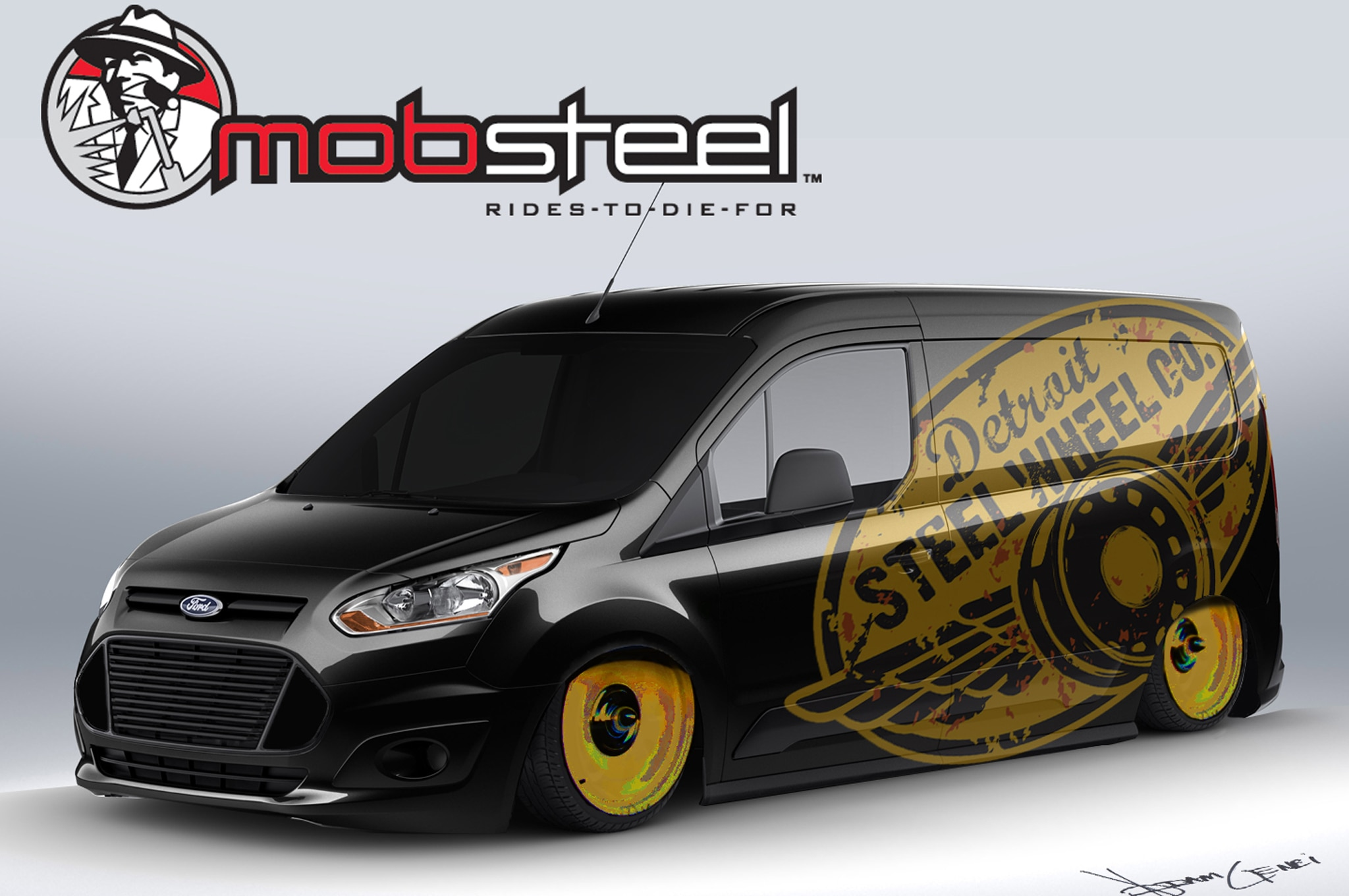 2014 Ford Transit Connect Vans Modified For 2013 Sema Show