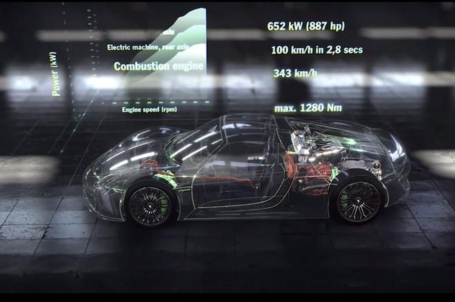 2015 Porsche 918 Spyder Video