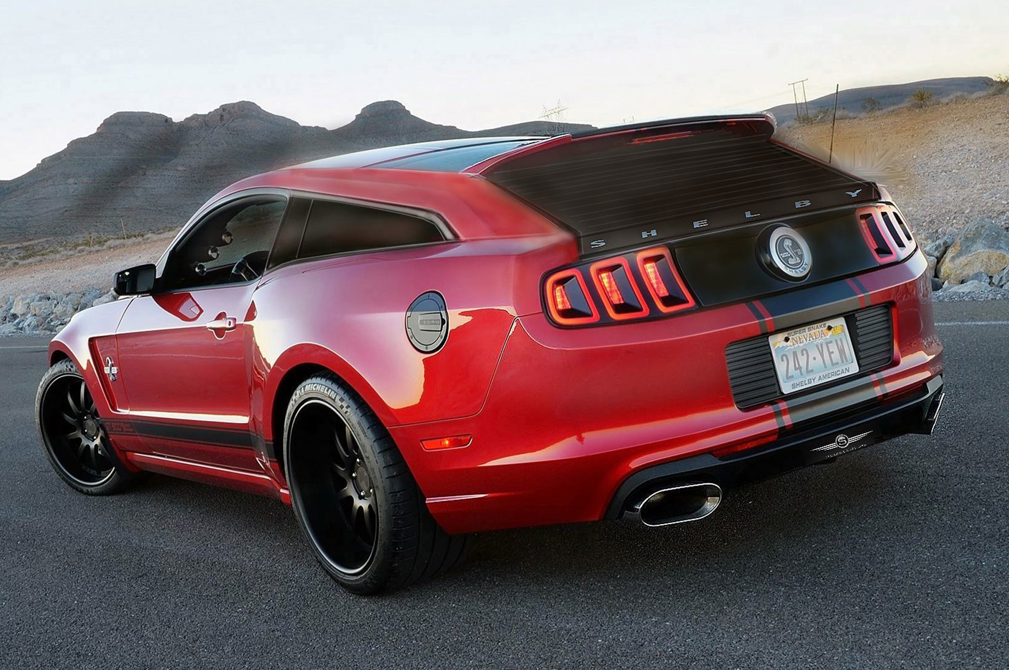 Yacht Company Plans Ford Shelby GT500 Wagon