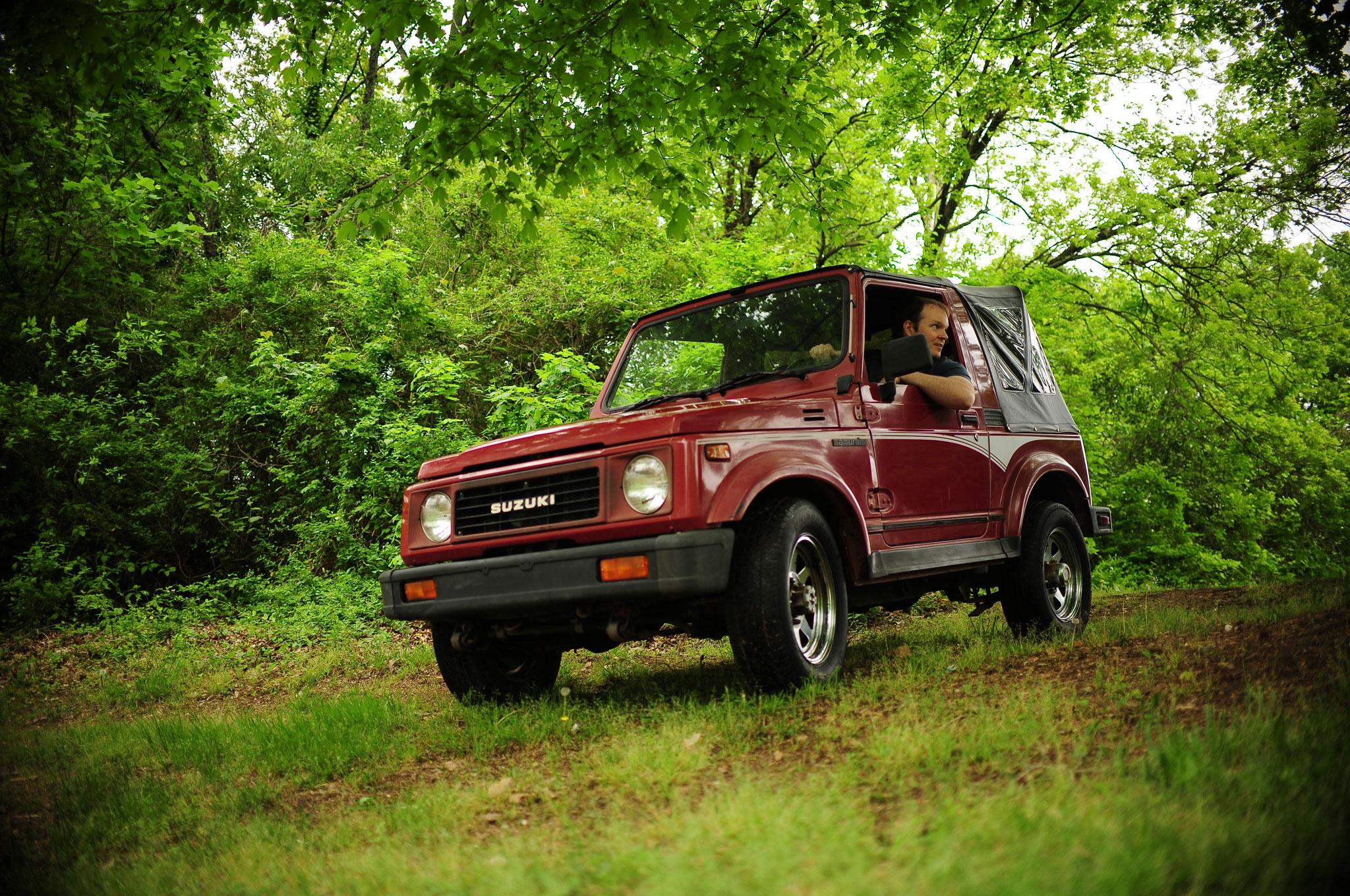 Collectible Classic 1986 1995 Suzuki Samurai Automobile