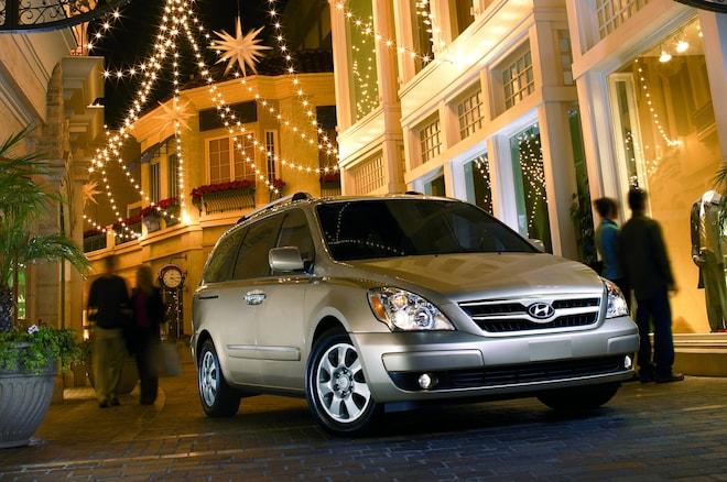 2007-2008 Hyundai Entourage Recalled For Rusting Suspension