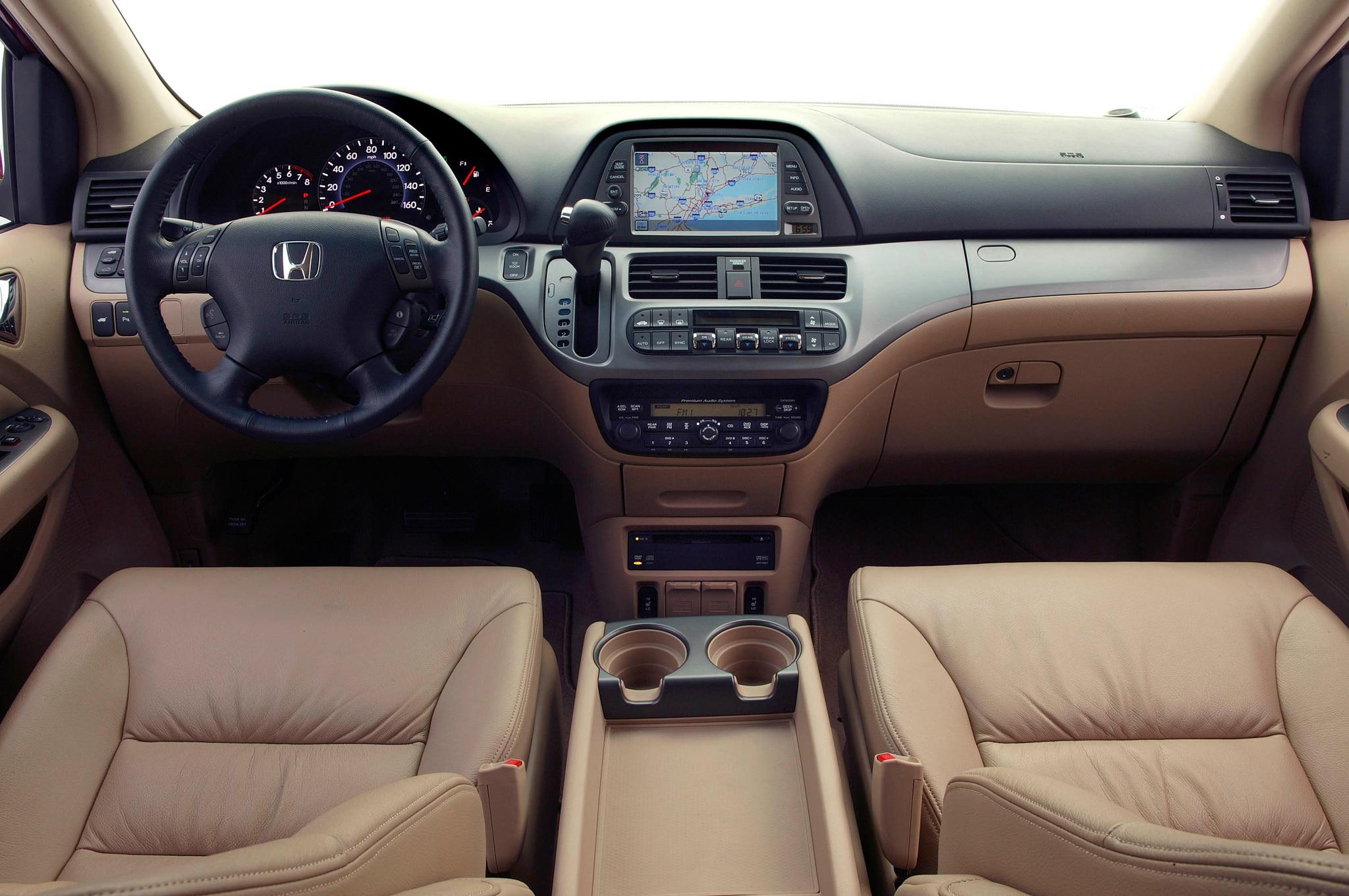 2007 2008 Honda Odyssey Vans Recalled For Unintended Braking
