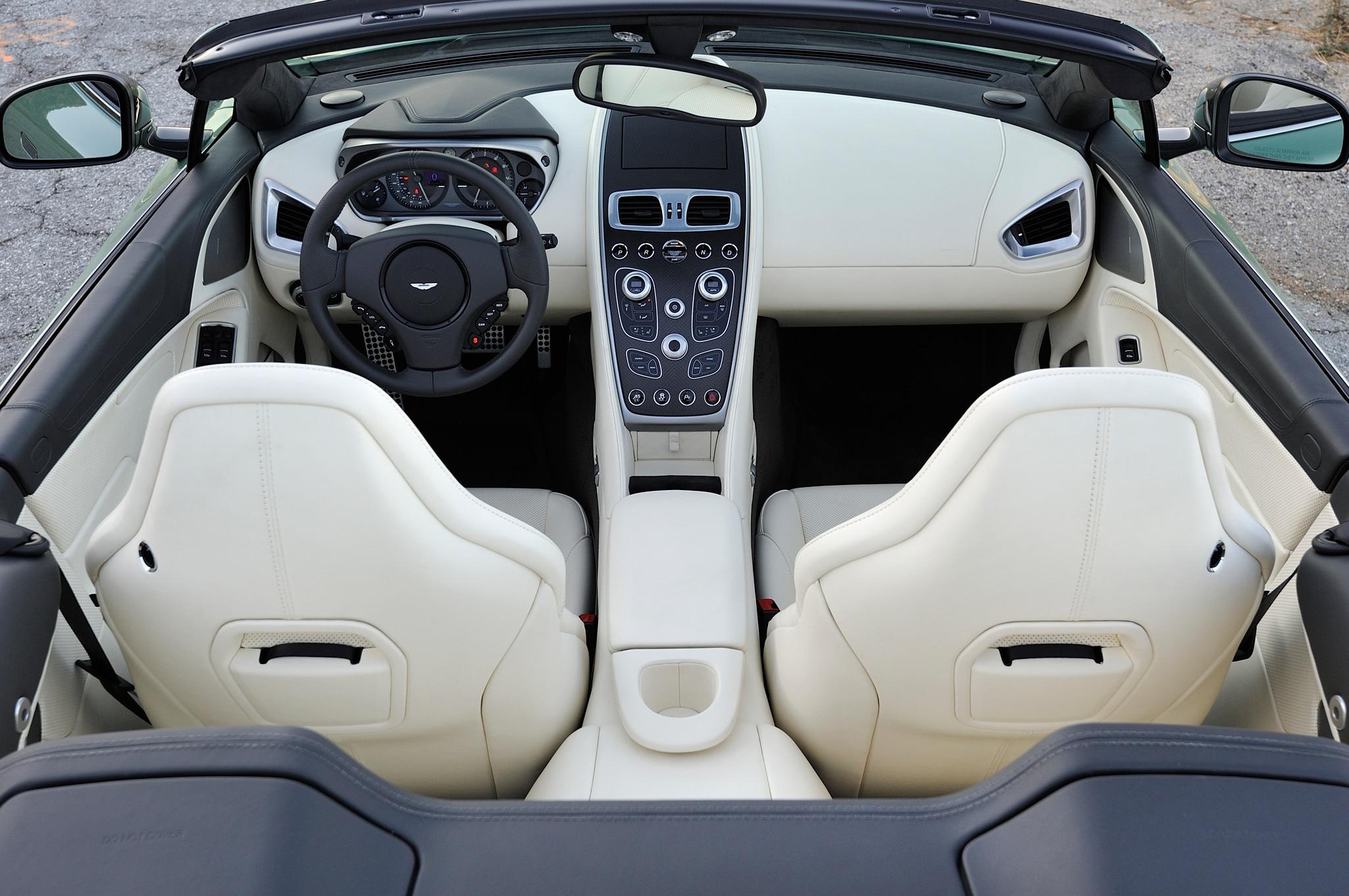 2014 Aston Martin Vanquish Volante Review Automobile Magazine