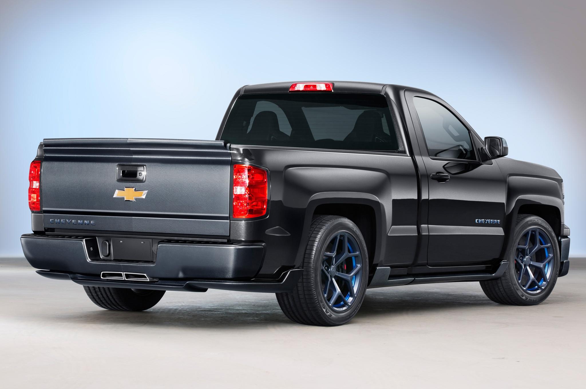 2014 Chevrolet Silverado Cheyenne SEMA Concept Revealed