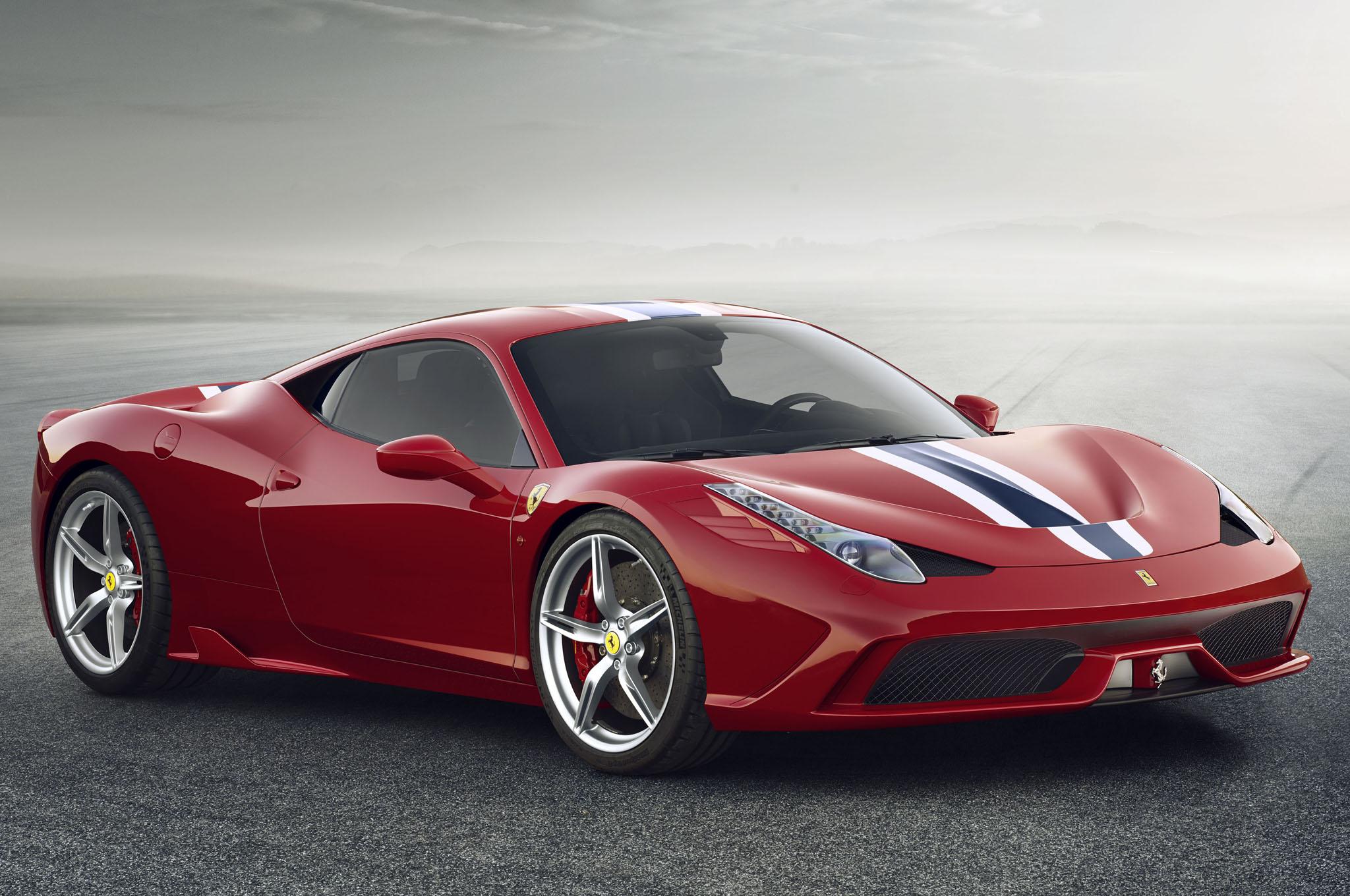 2014 Ferrari 458 Speciale Front Three Quarters1