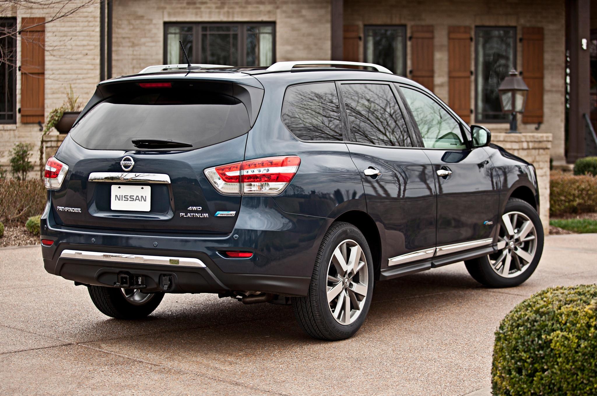 2014 Nissan Pathfinder Hybrid Review Automobile Magazine