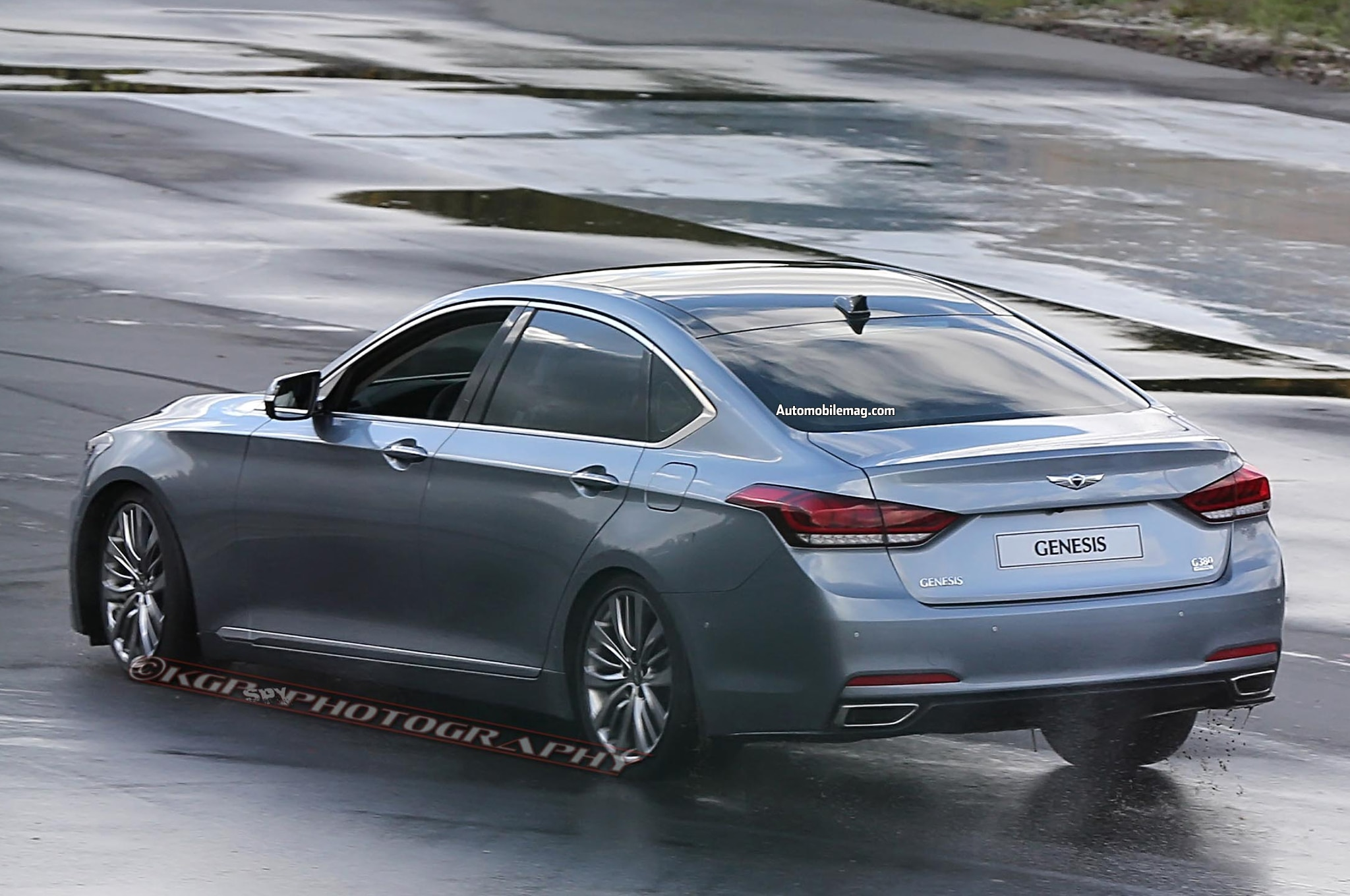 2015 Hyundai Genesis Review Automobile Magazine