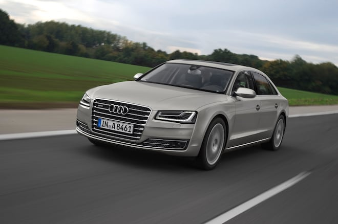 Audi A L W Exclusive Packs Even More Luxury Within - Audi a8 l w12