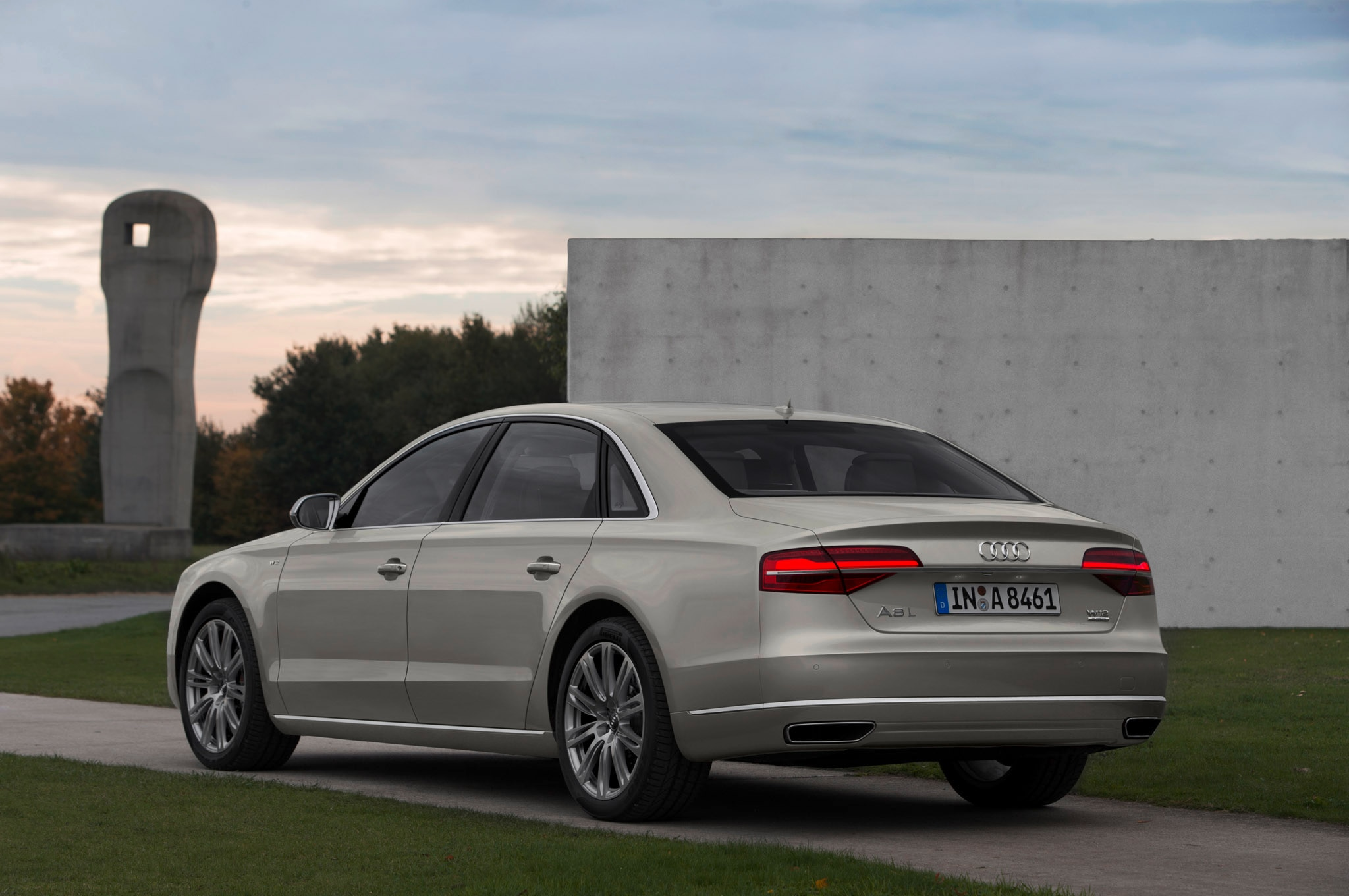 audi a8 l w12 exclusive packs even more luxury within. Black Bedroom Furniture Sets. Home Design Ideas