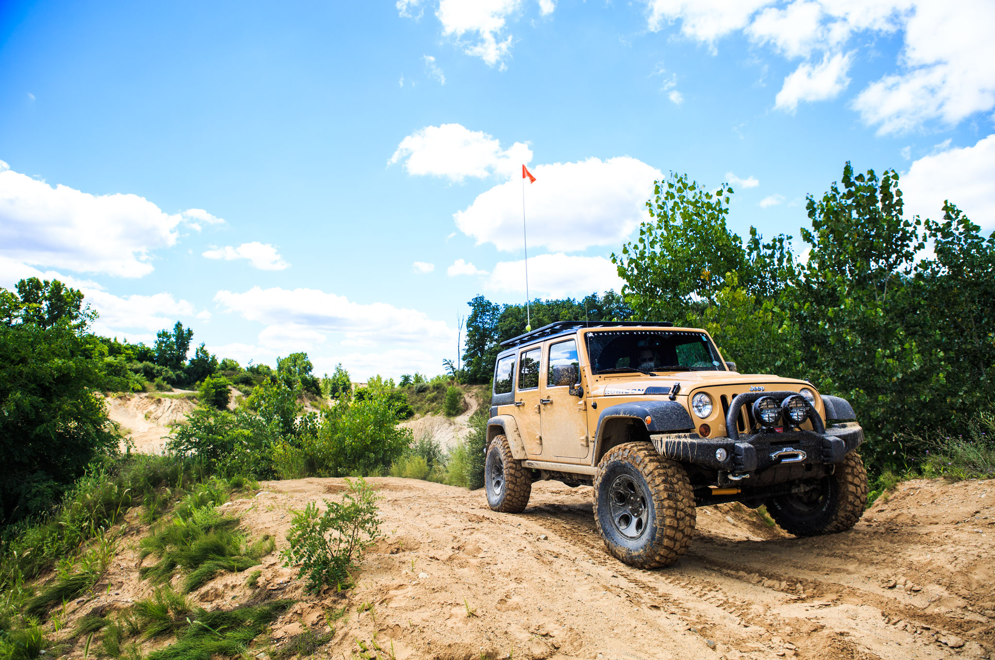 AEV Jeep Wrangler JK350 Front Right View 21