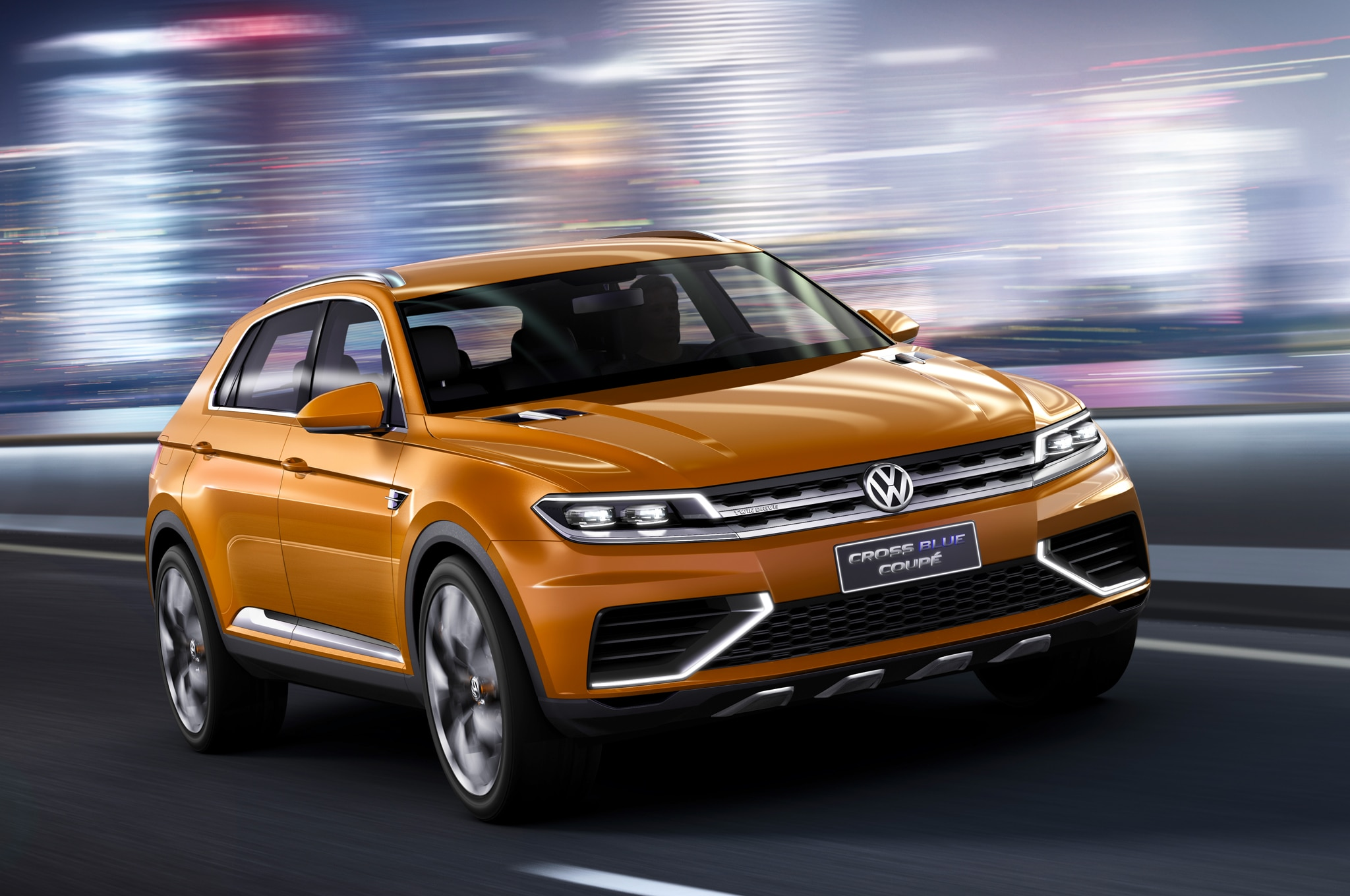 Volkswagen Crossblue Coupe Concept La Front Three Quarter