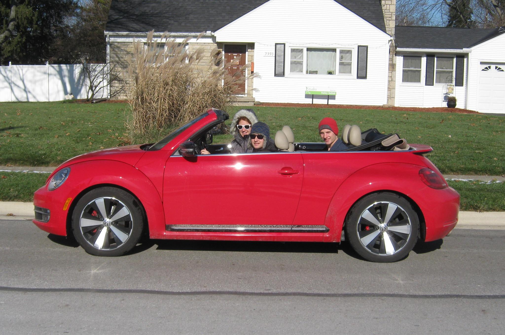 Vw Beetle Convertible >> 2013 Volkswagen Beetle Turbo Convertible - Four Seasons