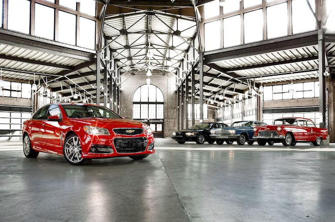2014 Chevrolet SS Front Right View 31