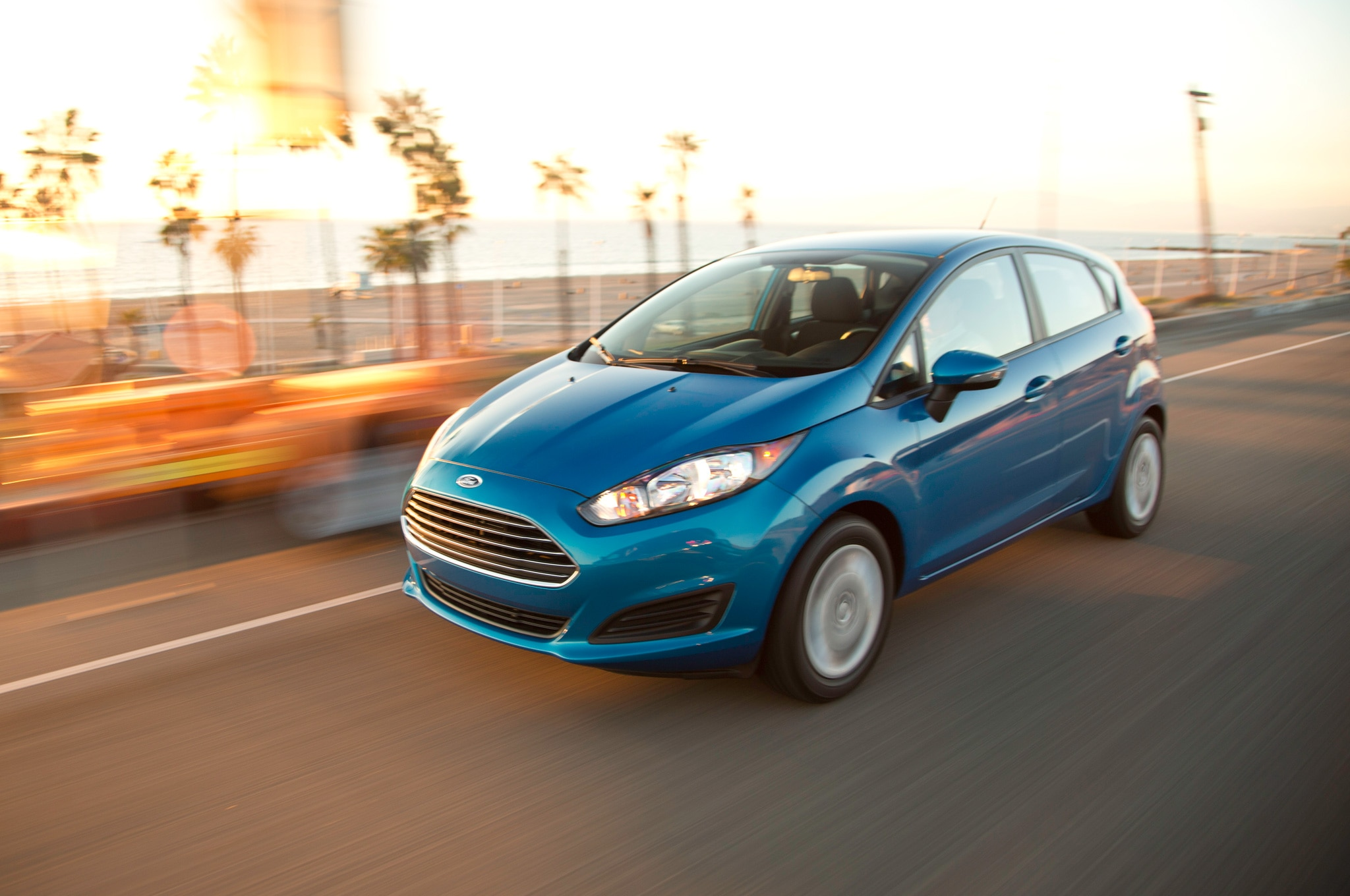 2014 Ford Fiesta SFE EcoBoost In Motion