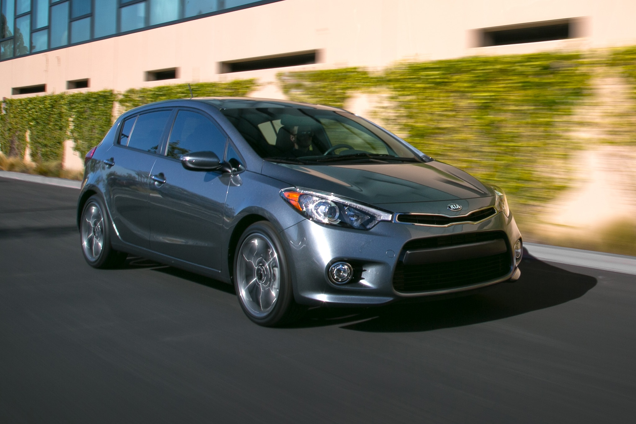 Grins Come Easily We Set Off In The 2014 Kia Forte5 SX ...