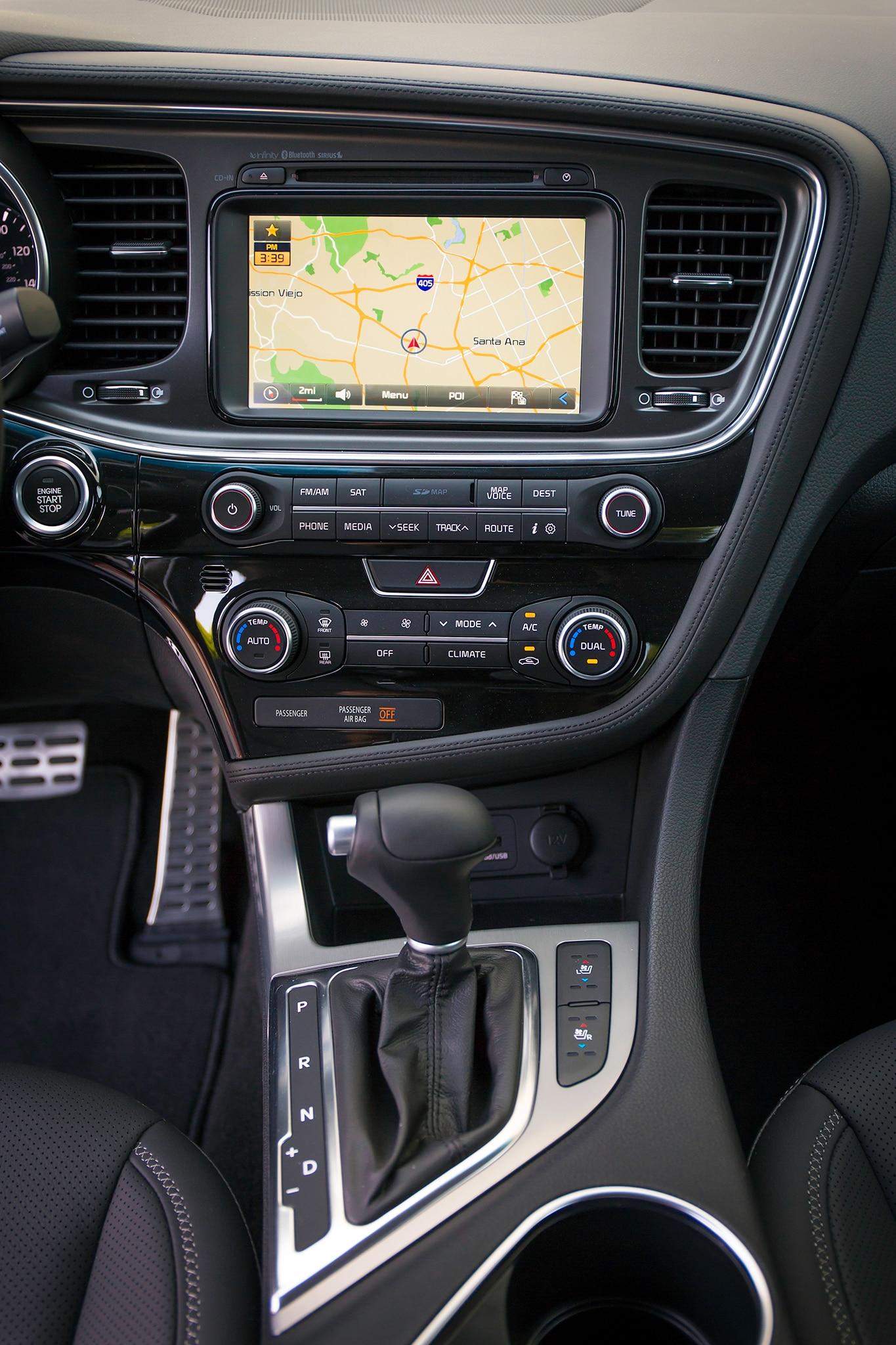 2014 Kia Optima Sx Turbo Review Automobile Magazine