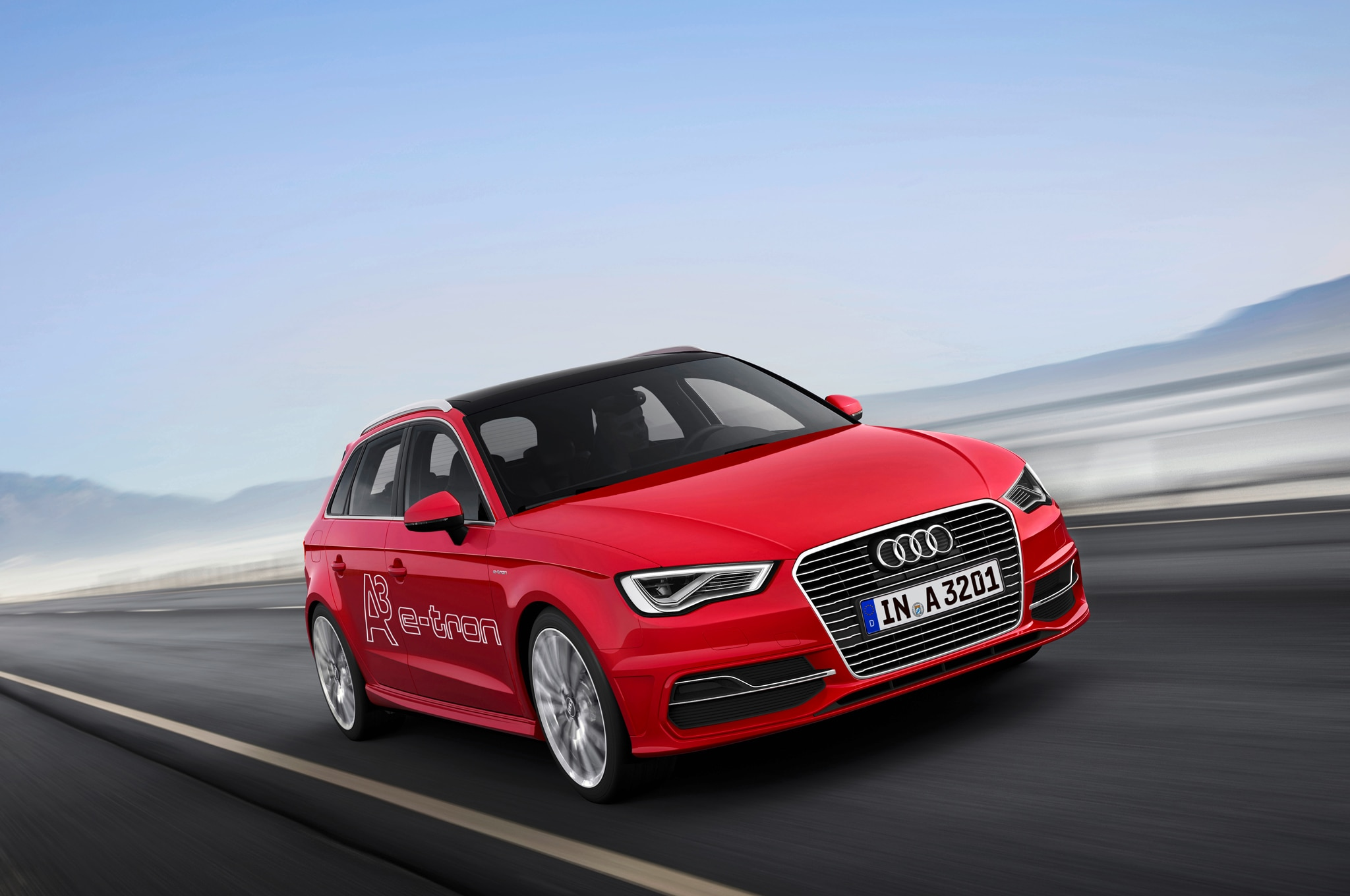 2015 Audi A3 Sportback Front Three Quarter View1
