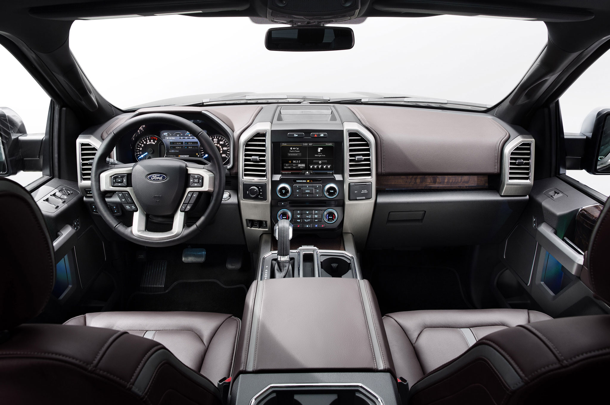 2015 Ford F 150 Debuts At 2014 Detroit Auto Show Automobile Magazine