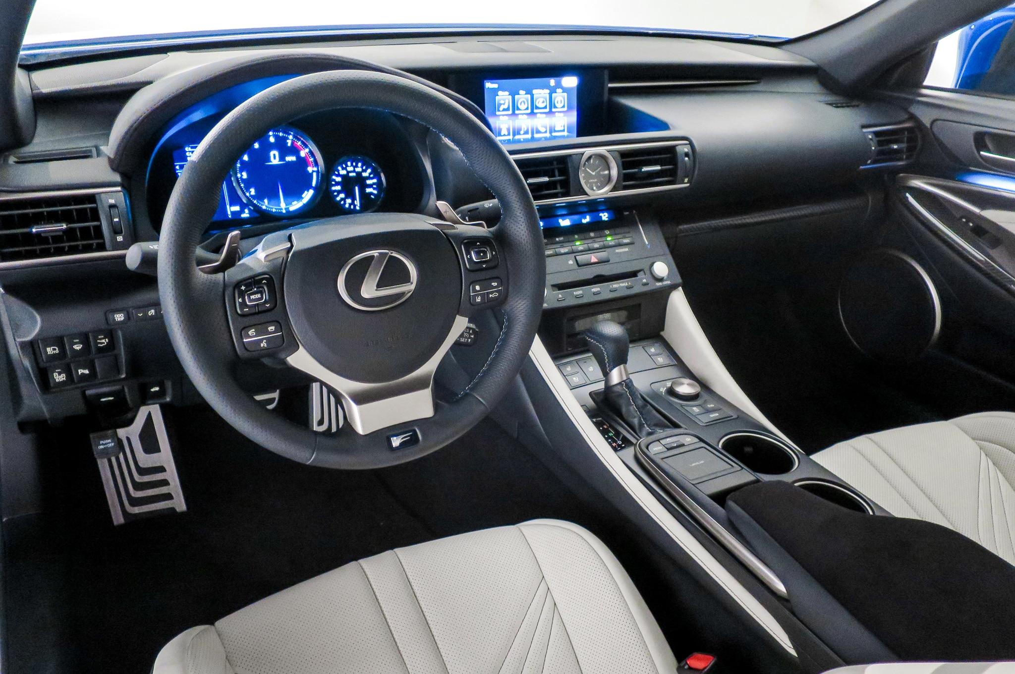 2015 Lexus RC F Debuts At 2014 Detroit Auto Show