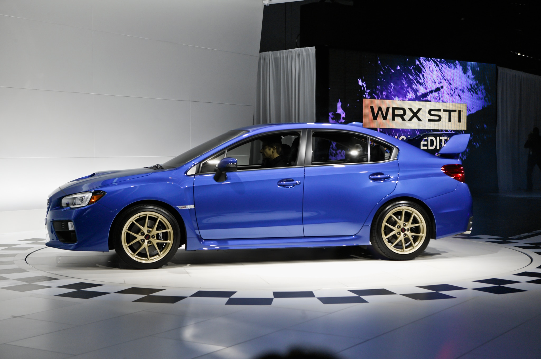 2015 Wrx Sti Launch Edition >> Detroit 2014: 2015 Subaru WRX STI Continues Its Go-Fast Legacy - Automobile Magazine
