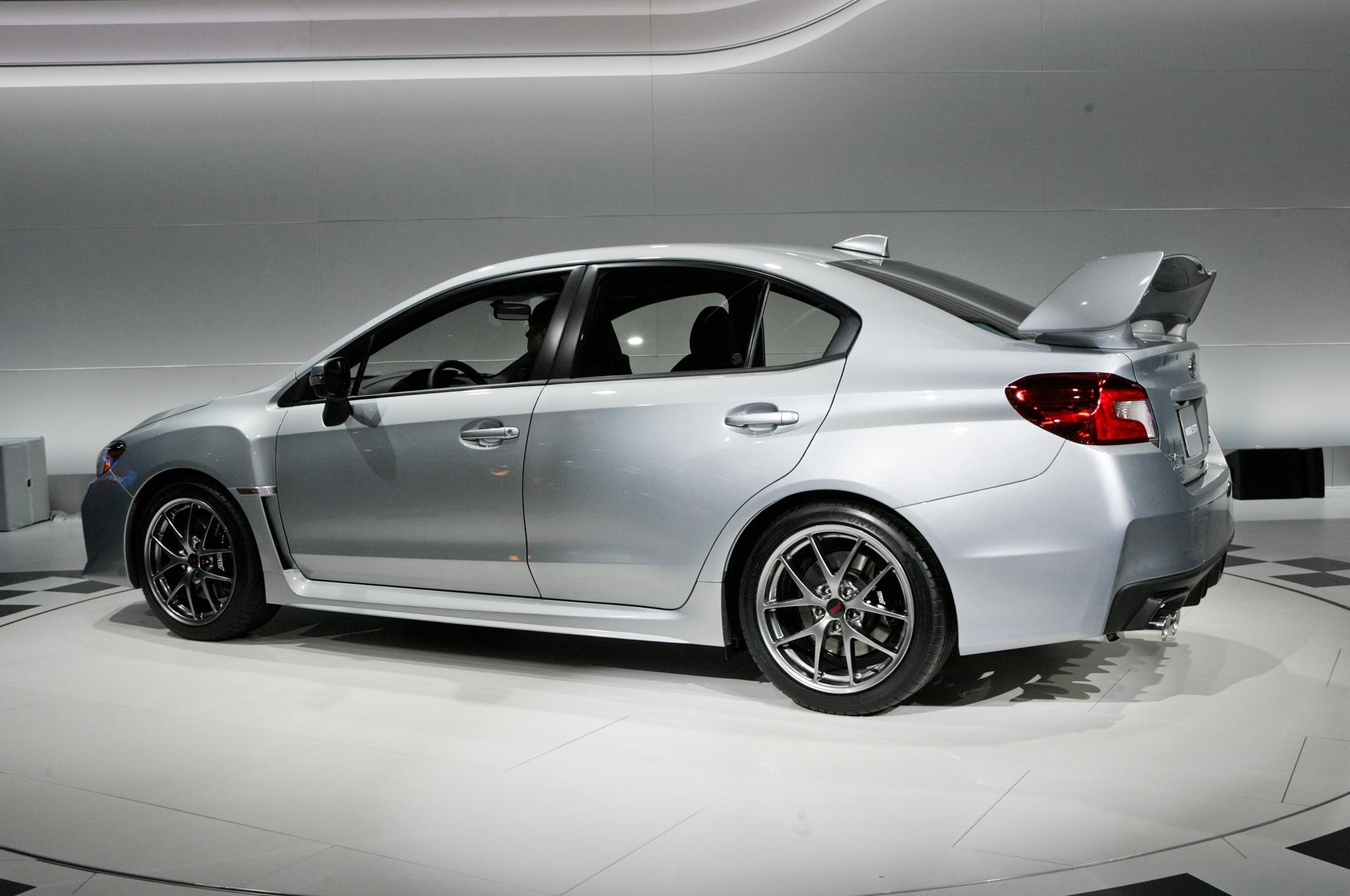 Detroit 2014: 2015 Subaru WRX STI Continues Its Go-Fast ...