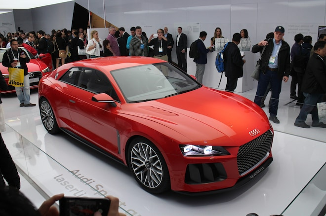 Audi Sport Quattro Laserlight Concept Front Three Quarters View1