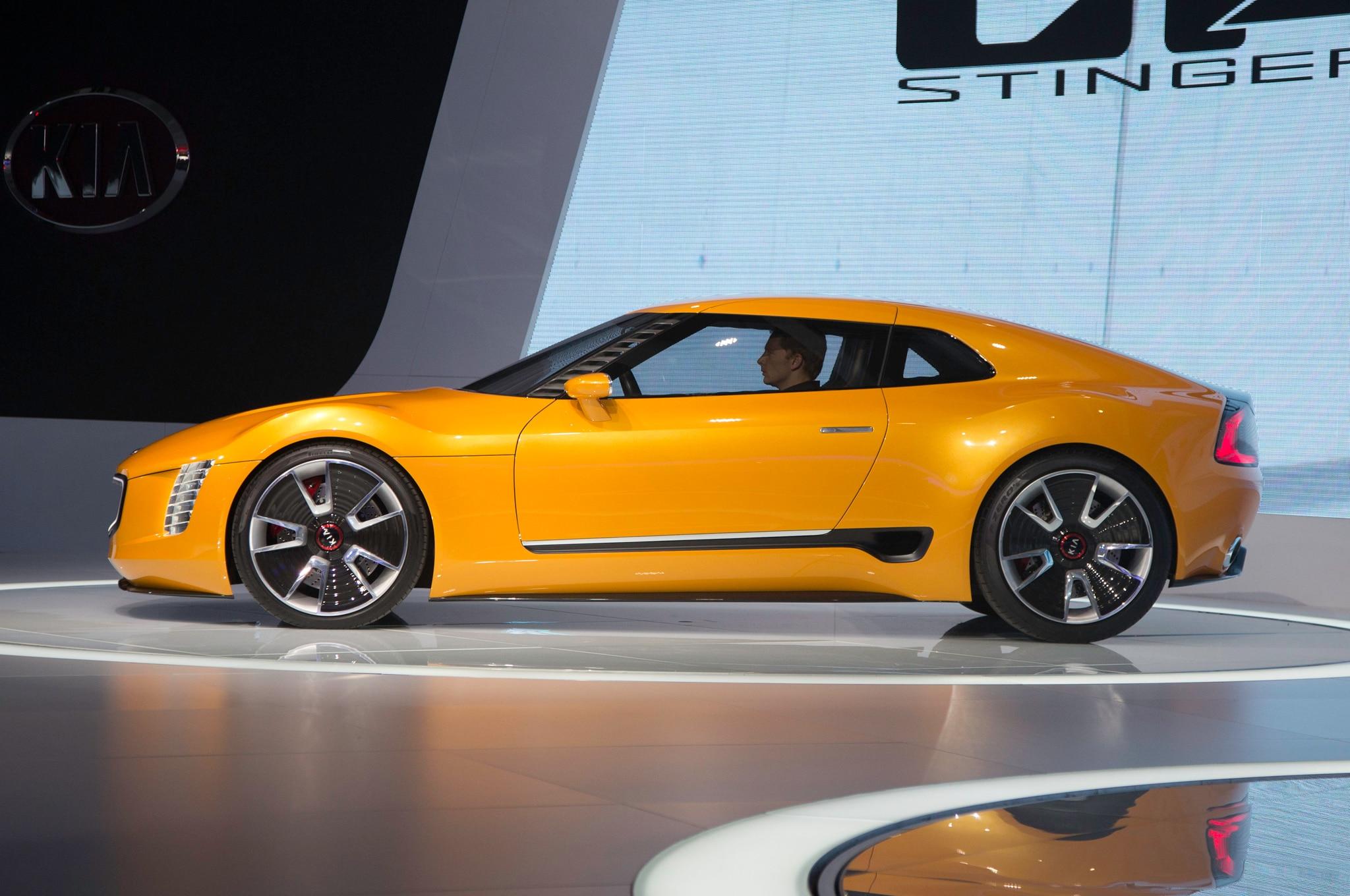 Kia GT4 Stinger Concept Side Profile2