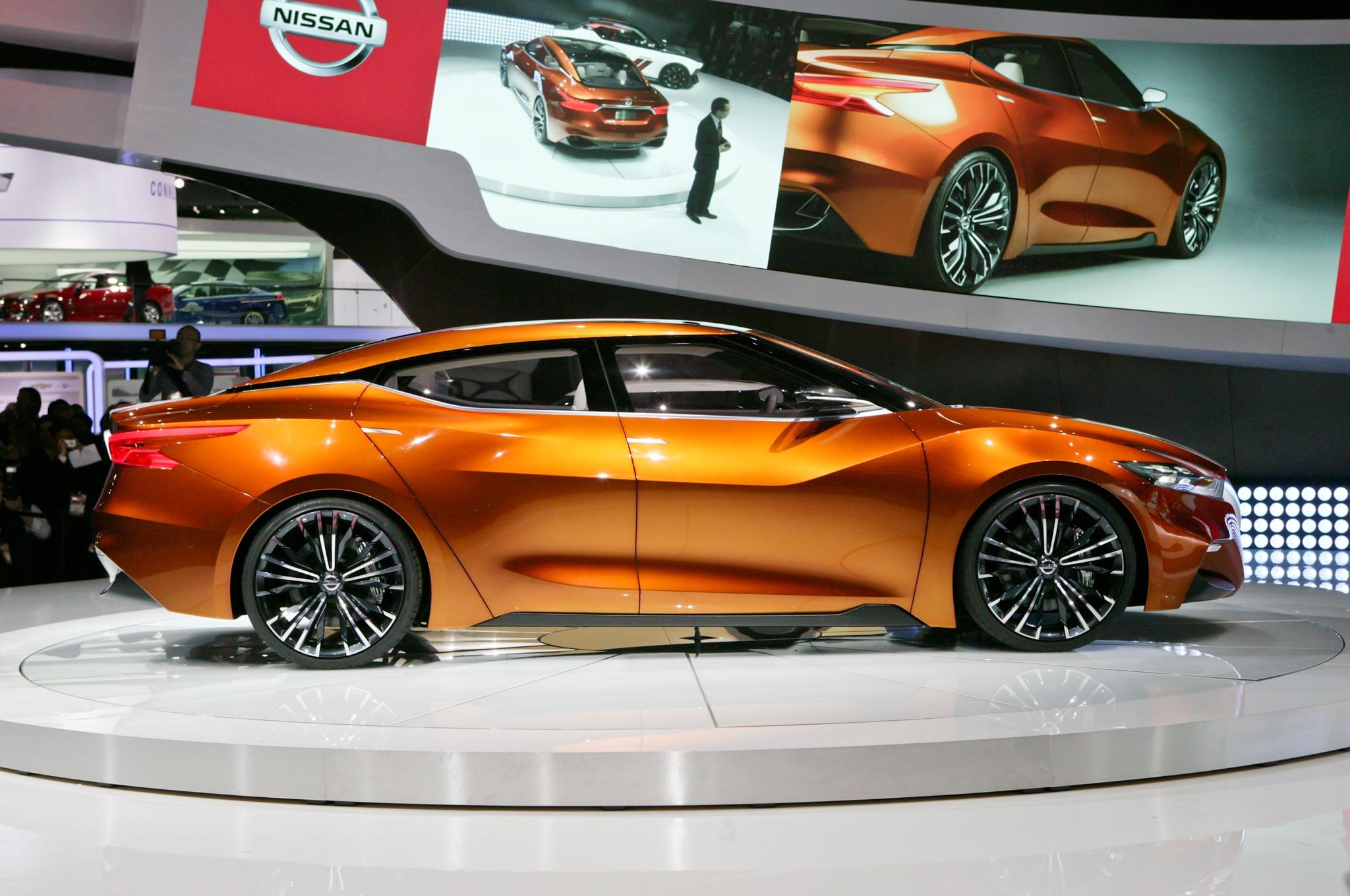 Nissan Sport Sedan Concept Debuts At 2014 Detroit Auto ...