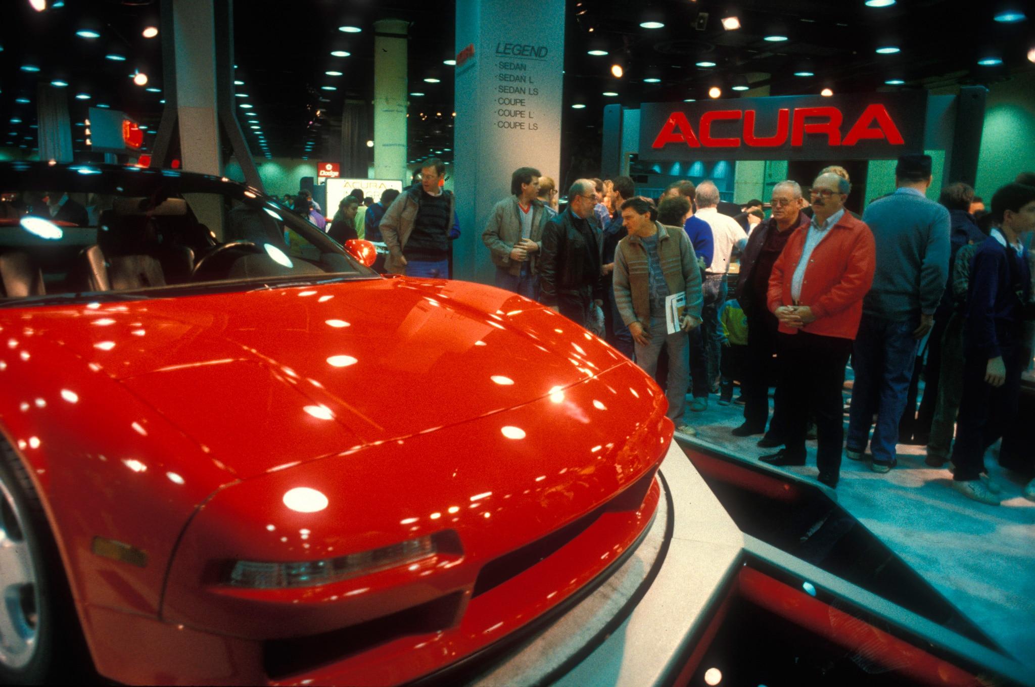 1989 Acura NSX Prototype During Chicago Auto Show Public Days1