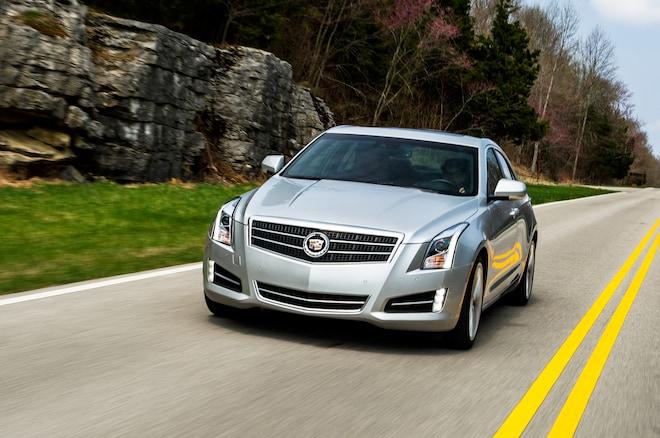 2013 Cadillac ATS In Motion