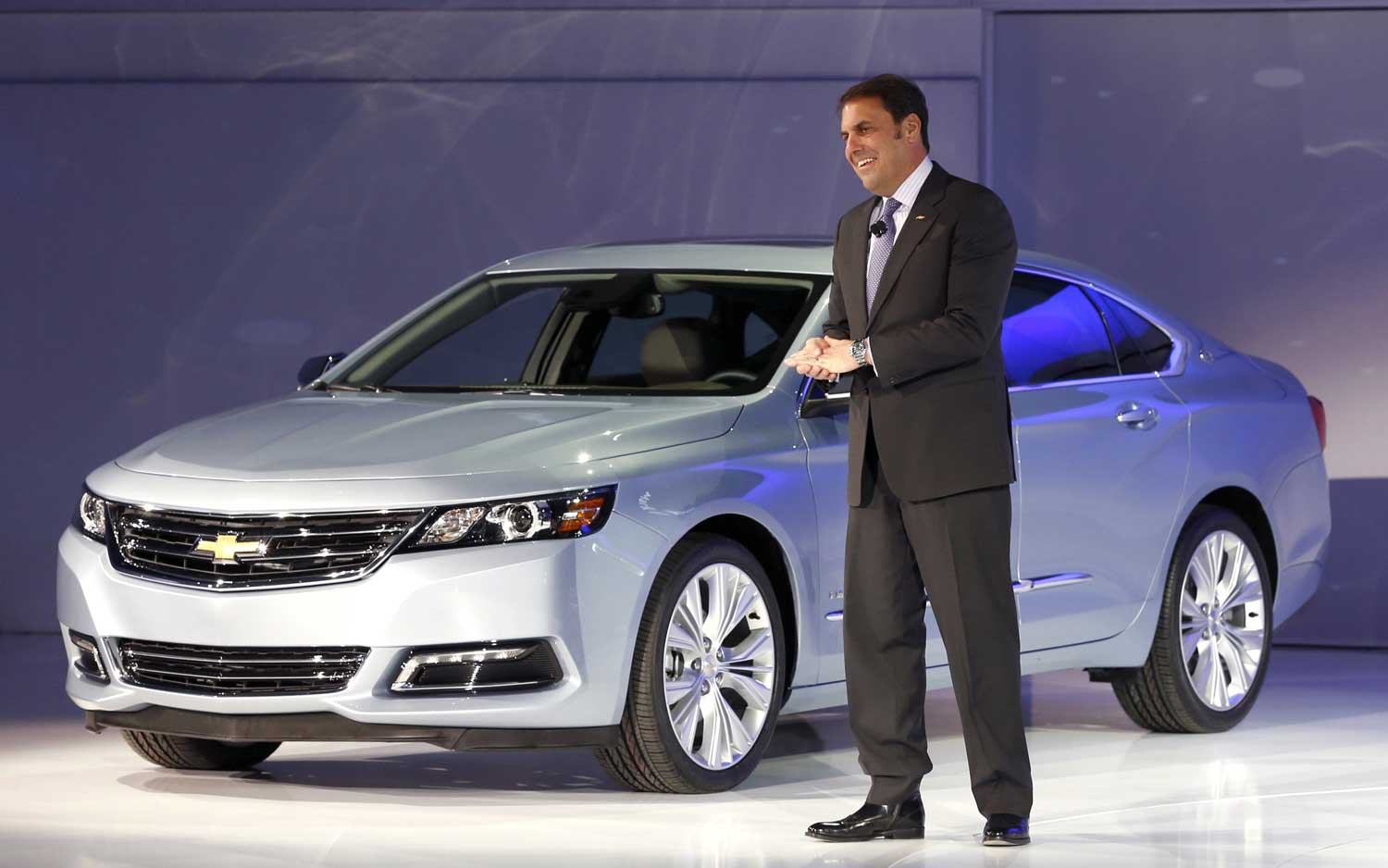 2014 Chevrolet Impala With Mark Reuss