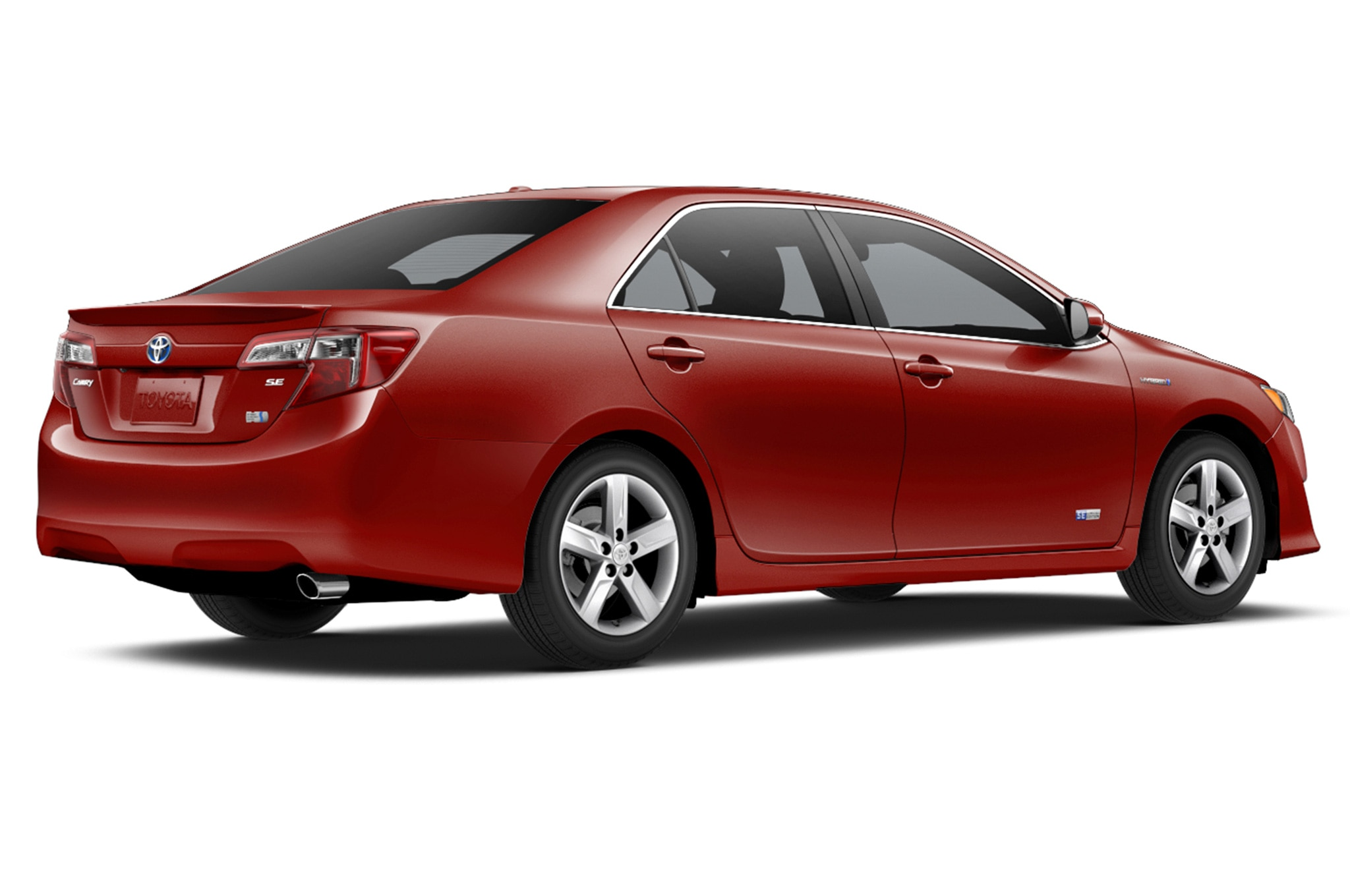 Toyota Camry Hybrid Se Limited Edition Rear View