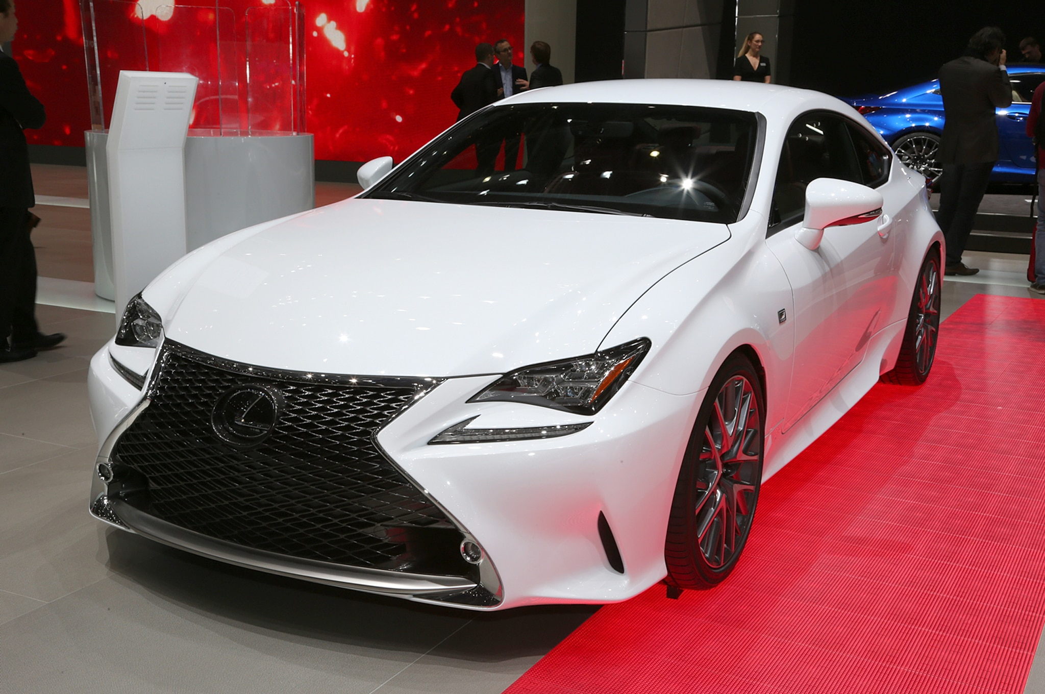 2015 Lexus Rc350 F Sport Rc F Race Car Debut In Geneva Automobile