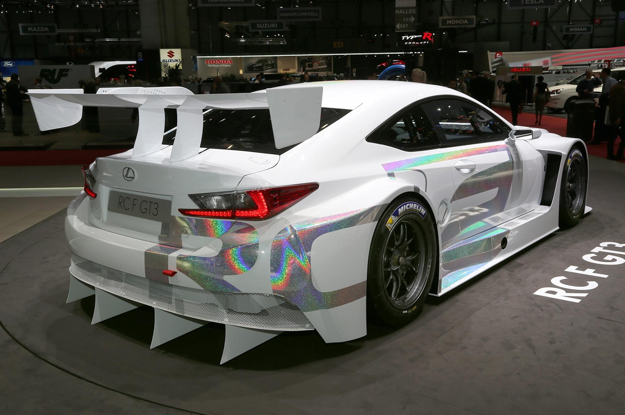 2015 Lexus RC350 F Sport, RC F Race Car Debut In Geneva - Automobile
