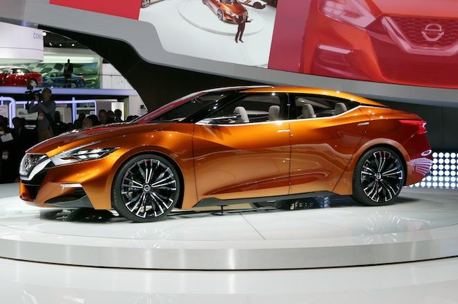Nissan Sport Sedan Concept Side Profile1