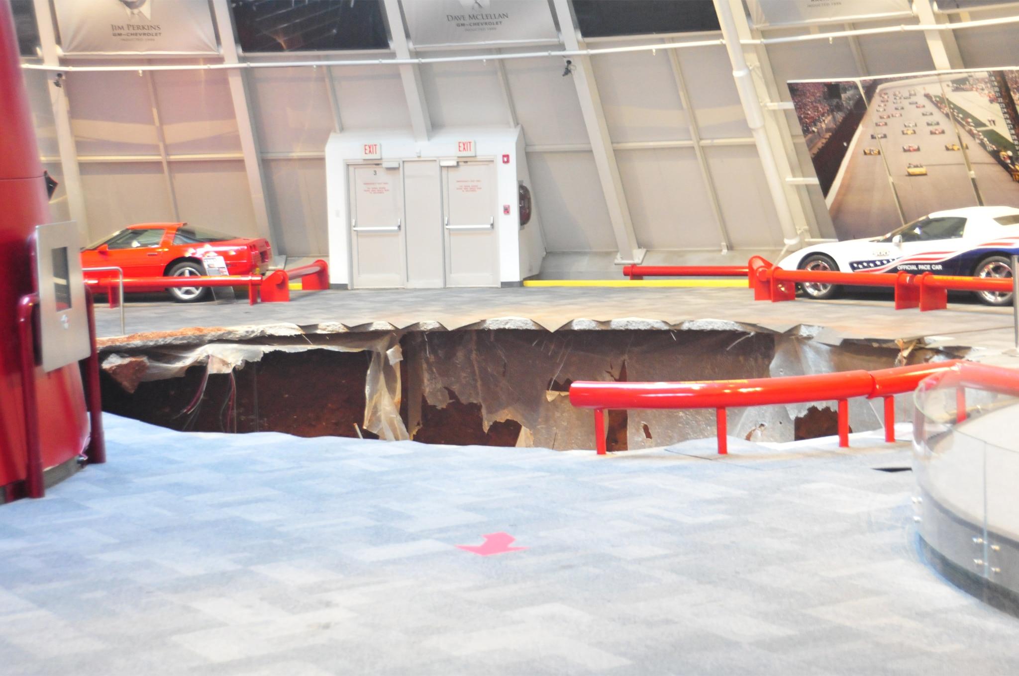 National Corvette Museum >> Eight Chevrolet Corvettes Fall Into Sinkhole At National Corvette Museum - Automobile Magazine