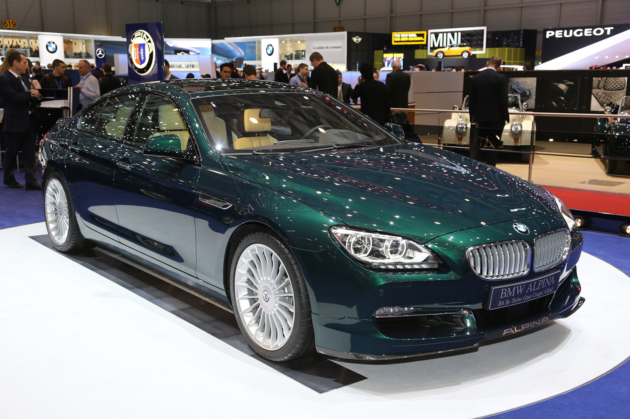 BMW Alpina B XDrive Gran Coupe Revealed Automobile Magazine - Bmw alpina b6 biturbo price