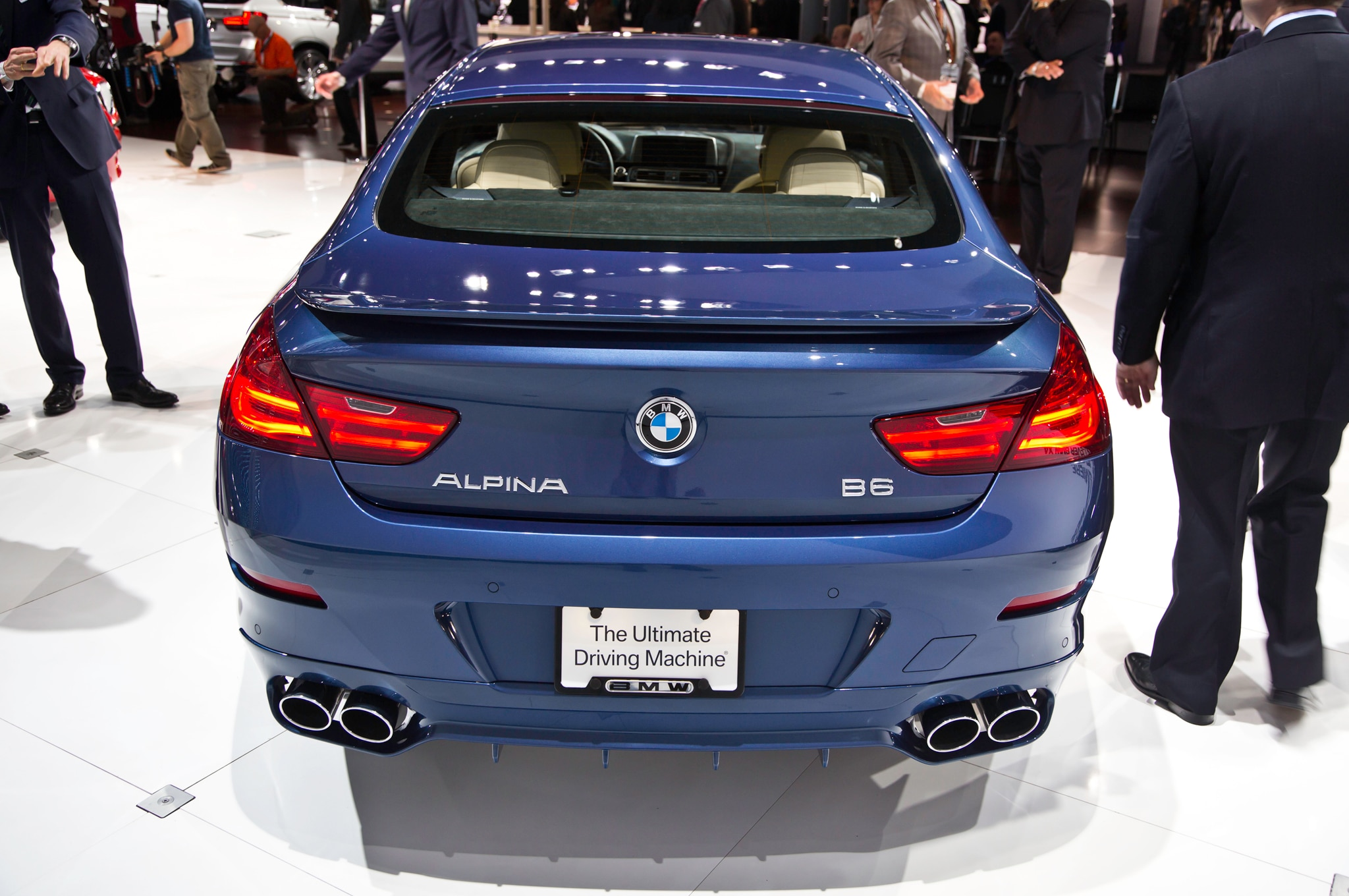 2015 Bmw Alpina B6 Xdrive Gran Coupe Revealed Automobile Magazine