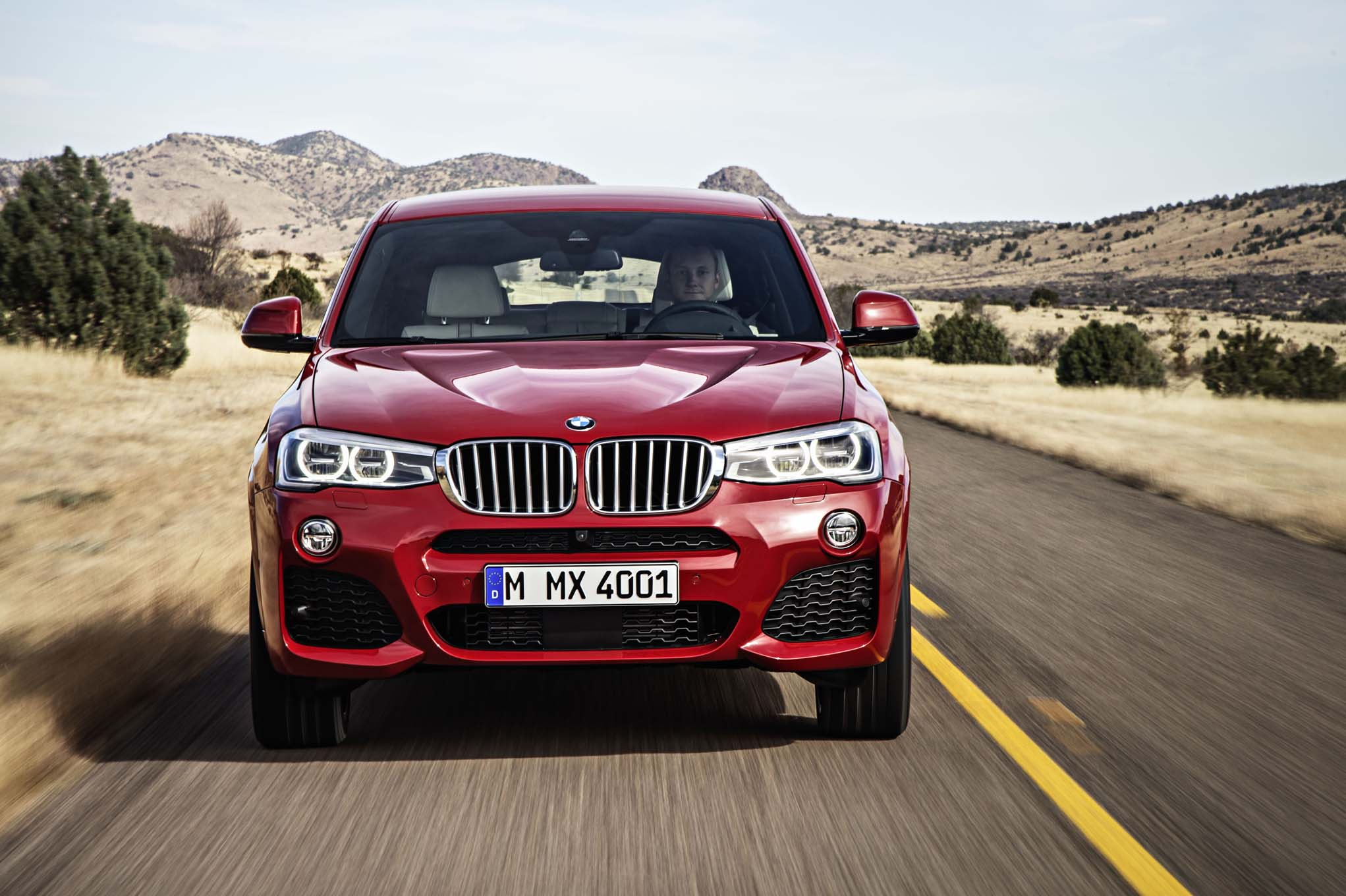 2015 BMW X4 Debuts At 2014 New York Auto Show