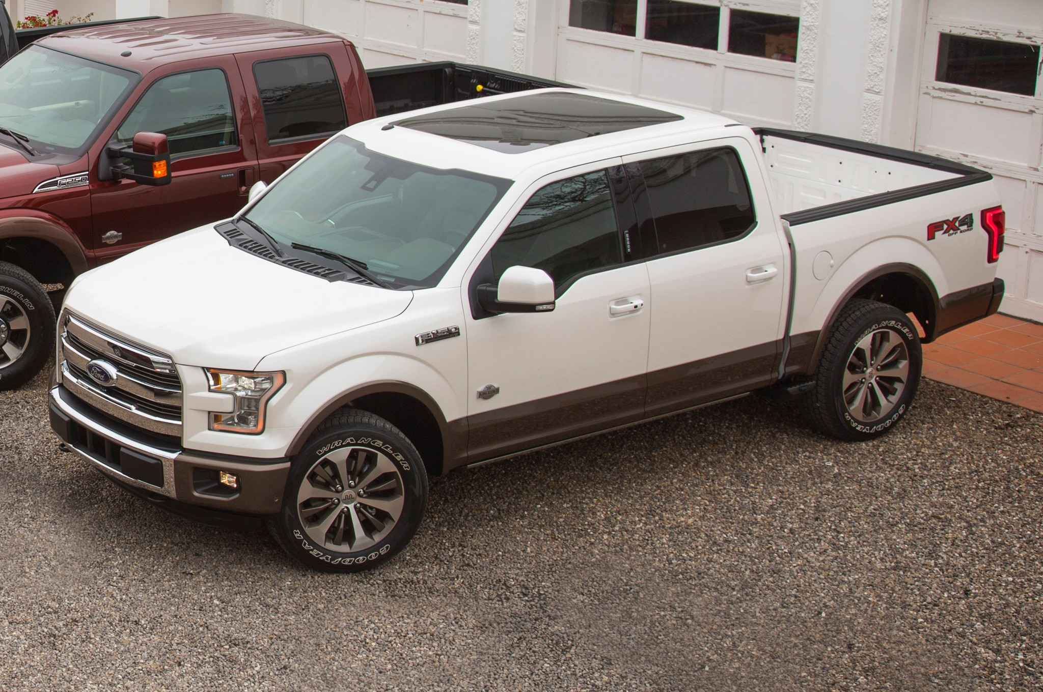 2015 Ford F 150 Expedition Super Duty King Ranch Debut Automobile 2004 Seats Show More