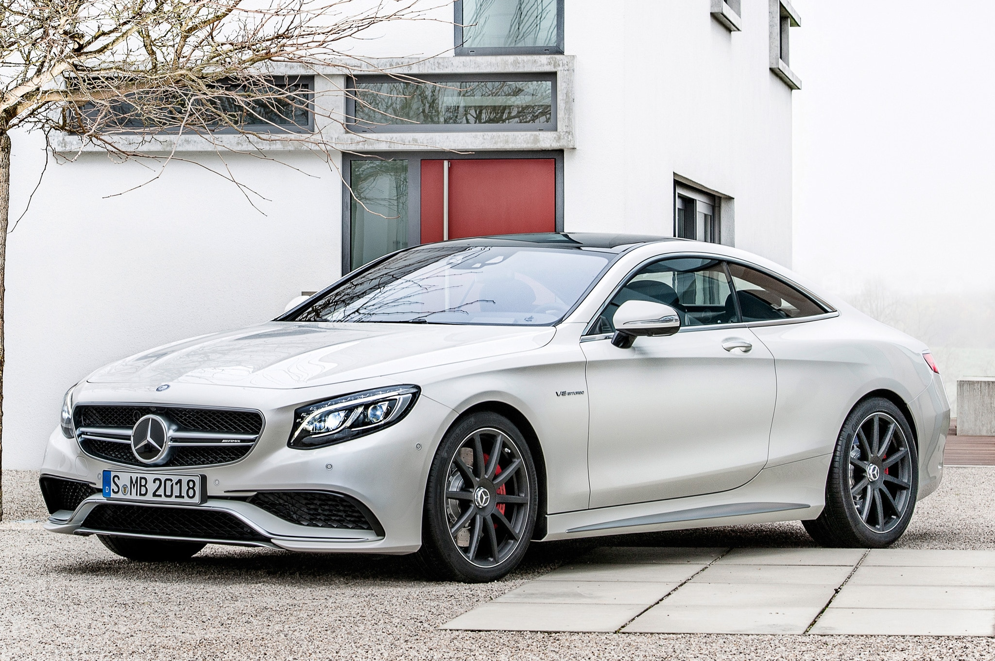 2015 Mercedes Benz S63 Amg Coupe Debuts In New York Automobile