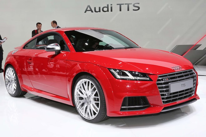Audi TTS Front Three Quarters1