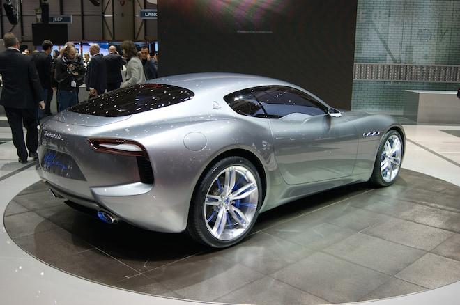 Maserati Alfieri Concept Show Floor Rear Side View2