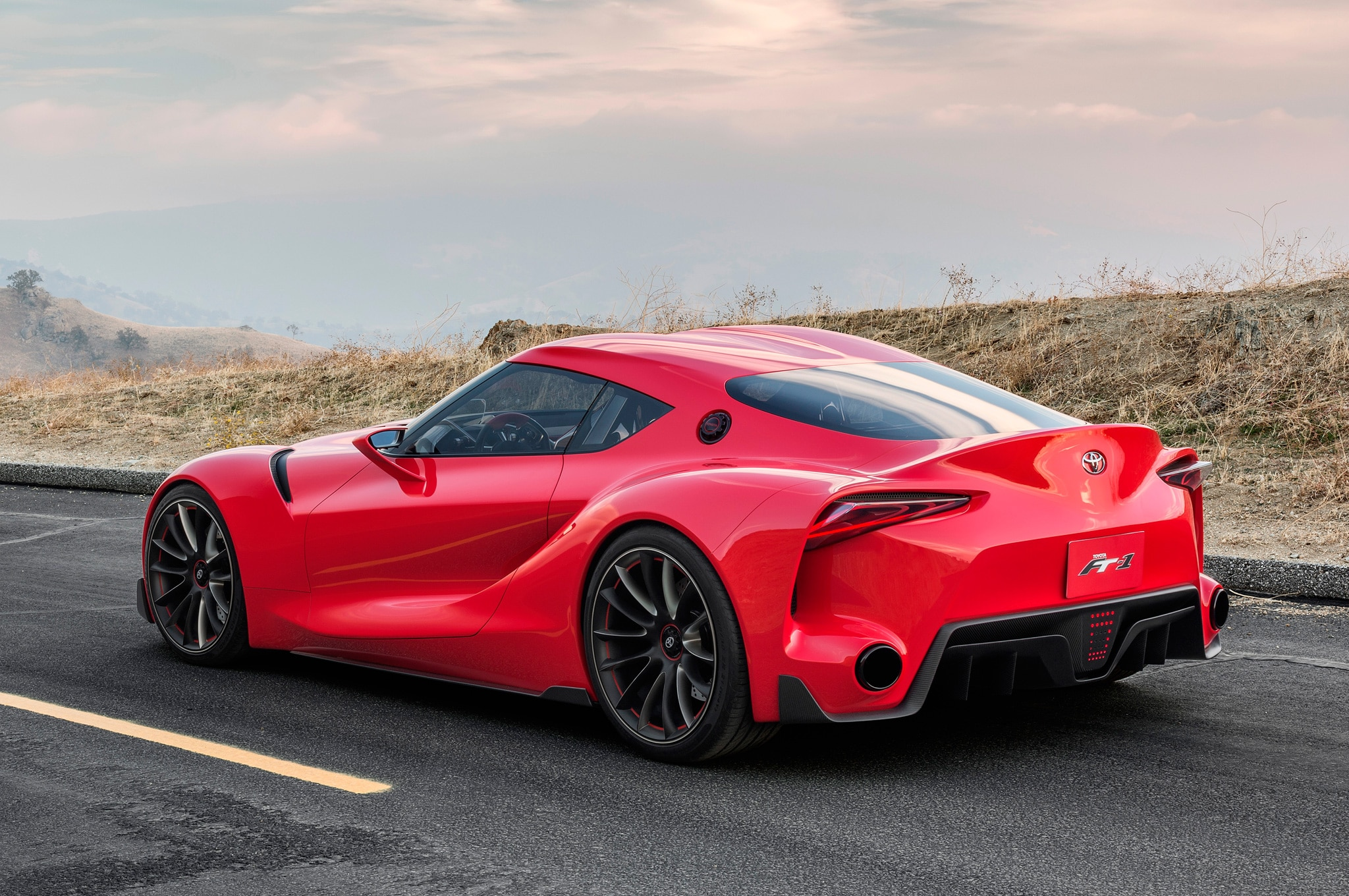 Toyota FT 1 Concept Rear Three Quarters View1