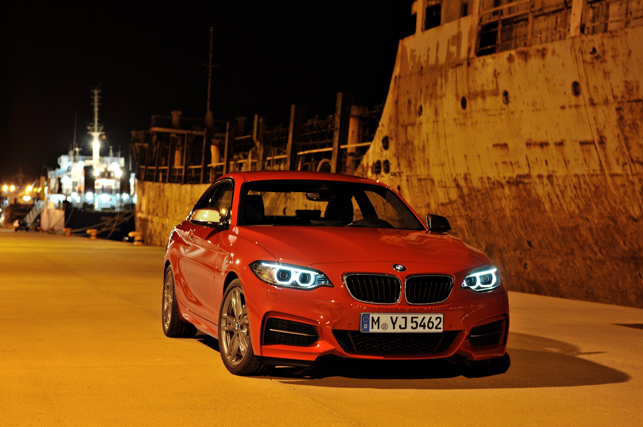 2014 BMW M235i Front End Static